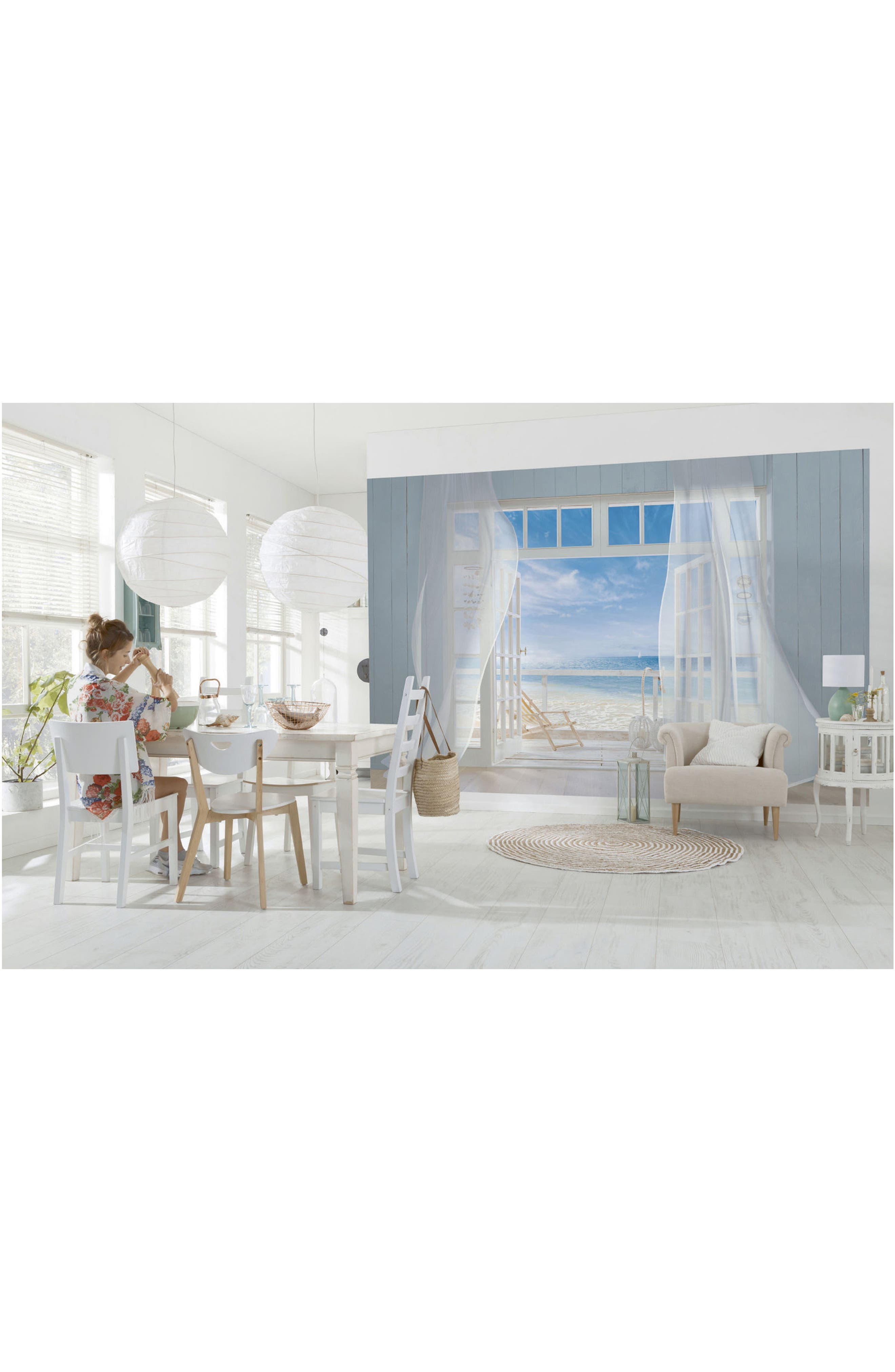 Alternate Image 2  - Wallpops Malibu 8-Panel Wall Mural