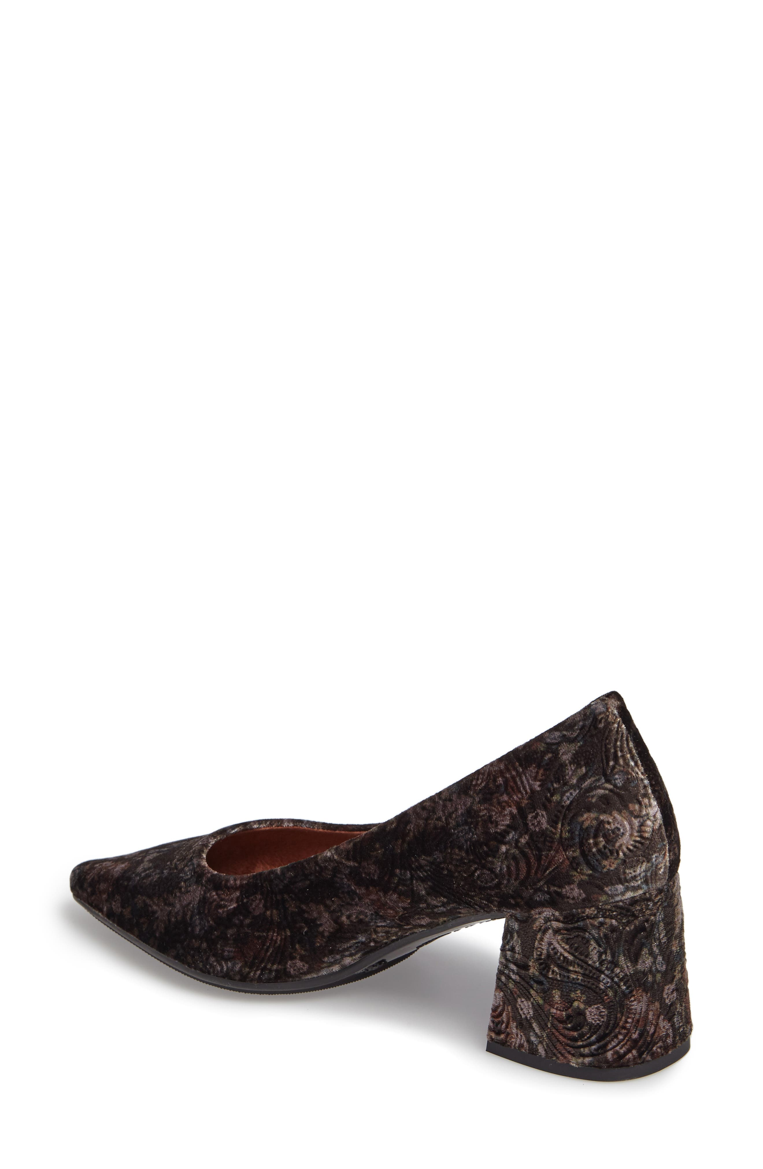 Carson Pointy Toe Pump,                             Alternate thumbnail 2, color,                             Grey Leather