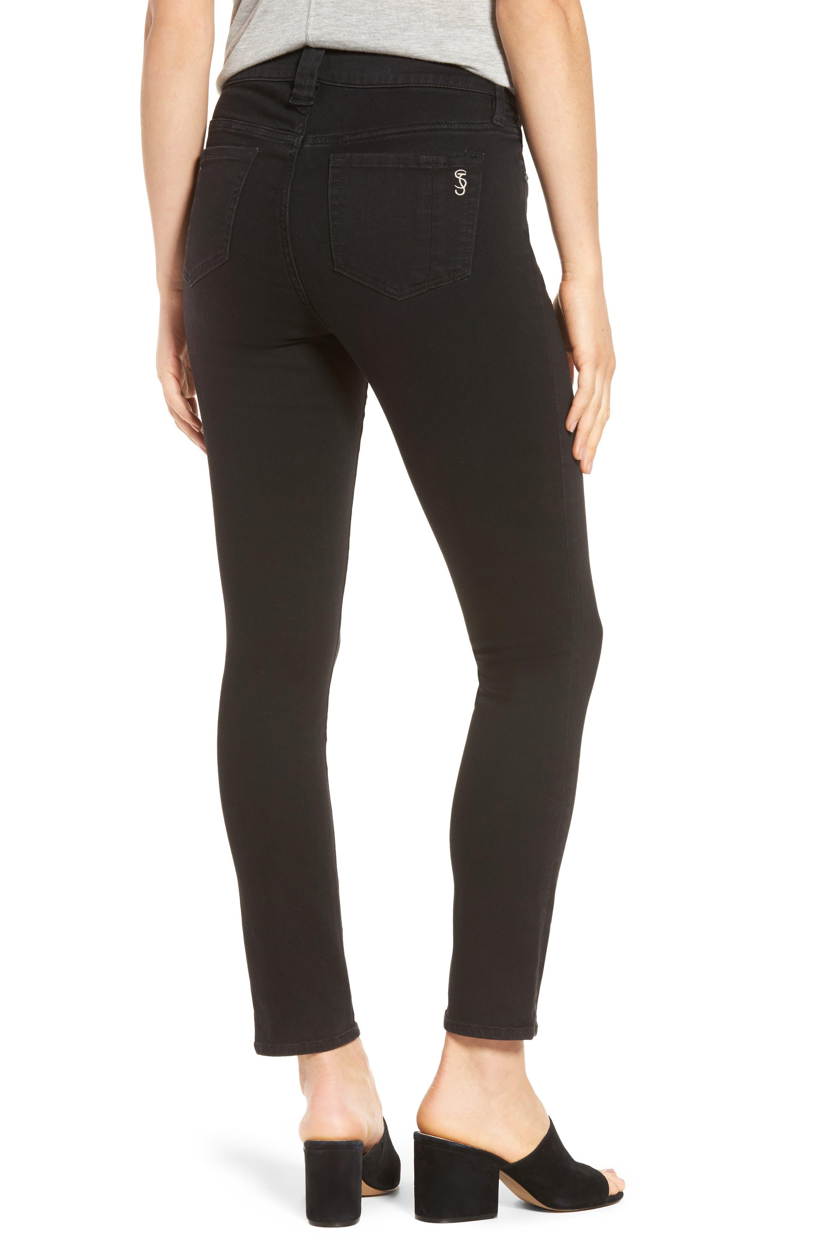 Slim Jeans,                             Alternate thumbnail 2, color,                             Black