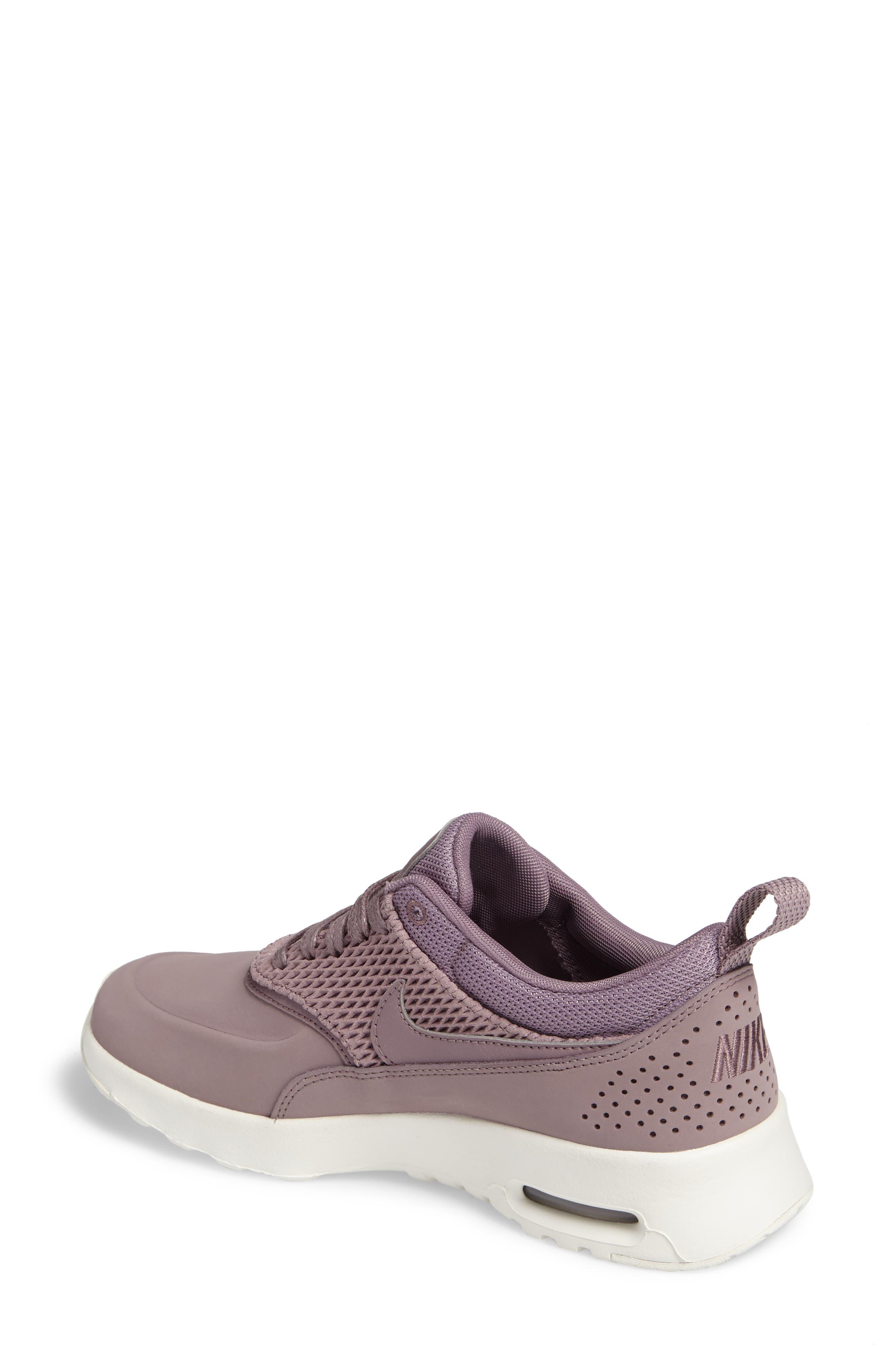 Alternate Image 2  - Nike Air Max Thea Premium Sneaker (Women)