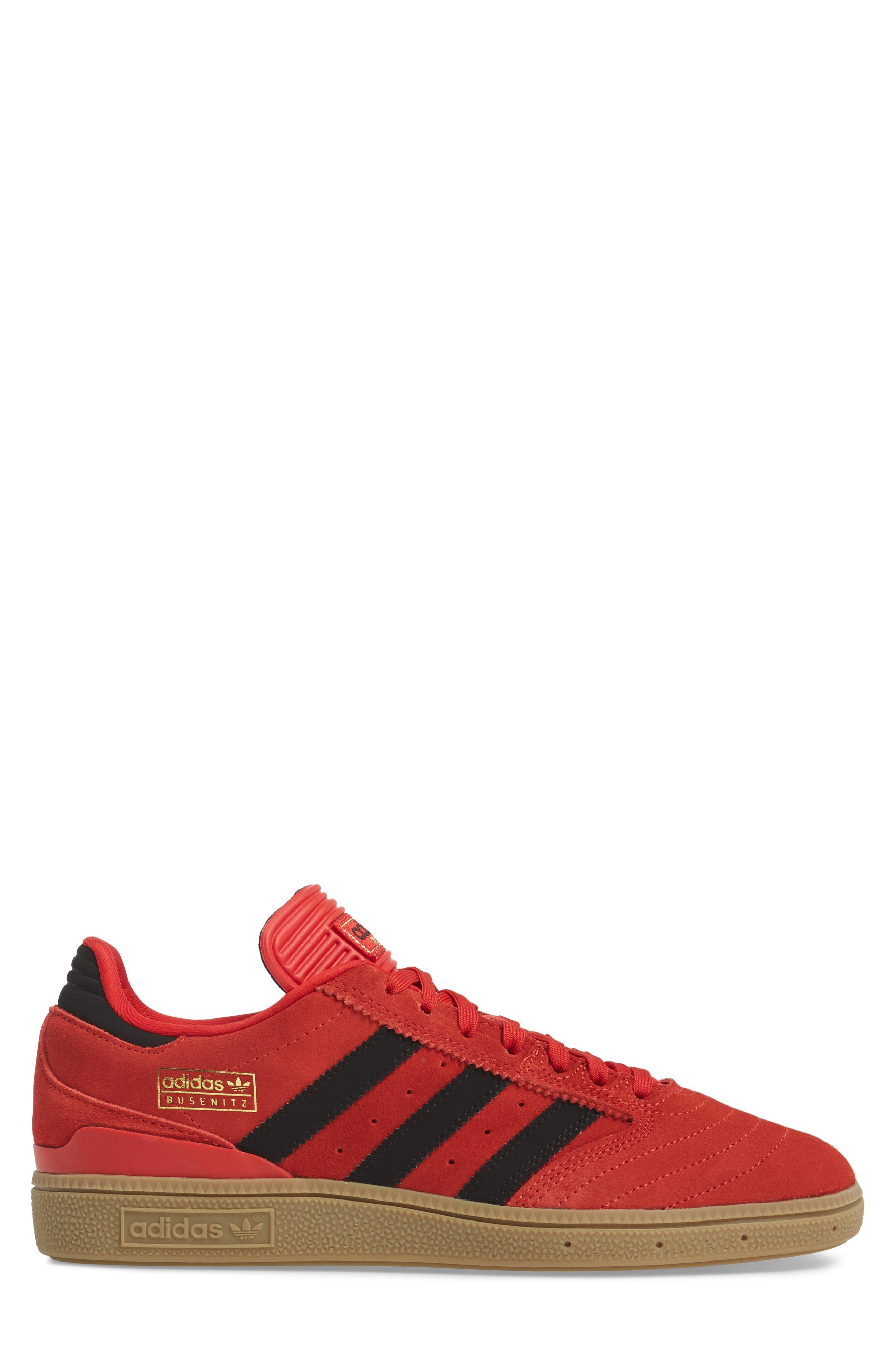 Busenitz Sneaker,                             Alternate thumbnail 3, color,                             Scarlet/ Core Black/ Gum4