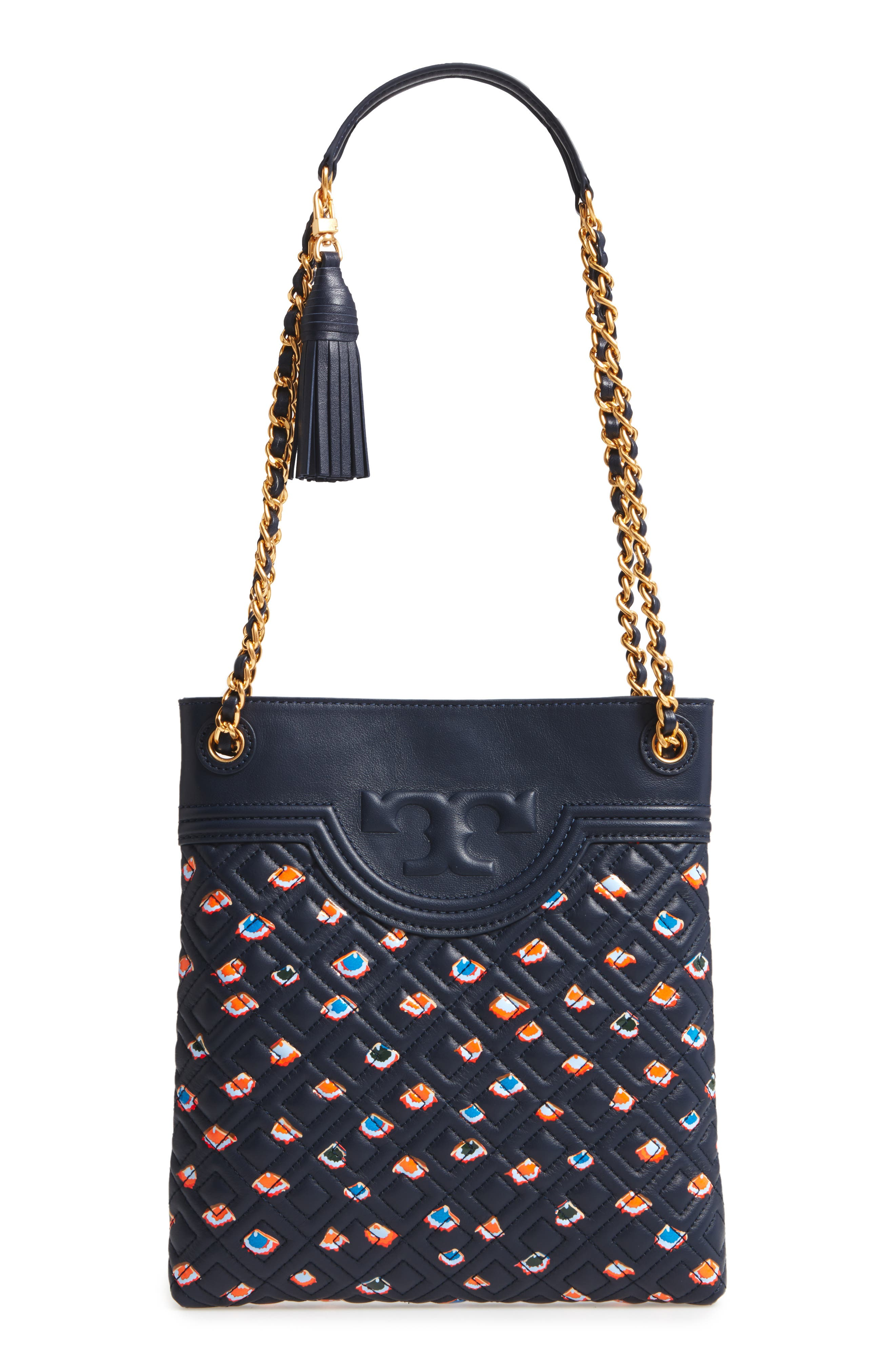 TORY BURCH Fleming Swingpack Leather Crossbody Bag