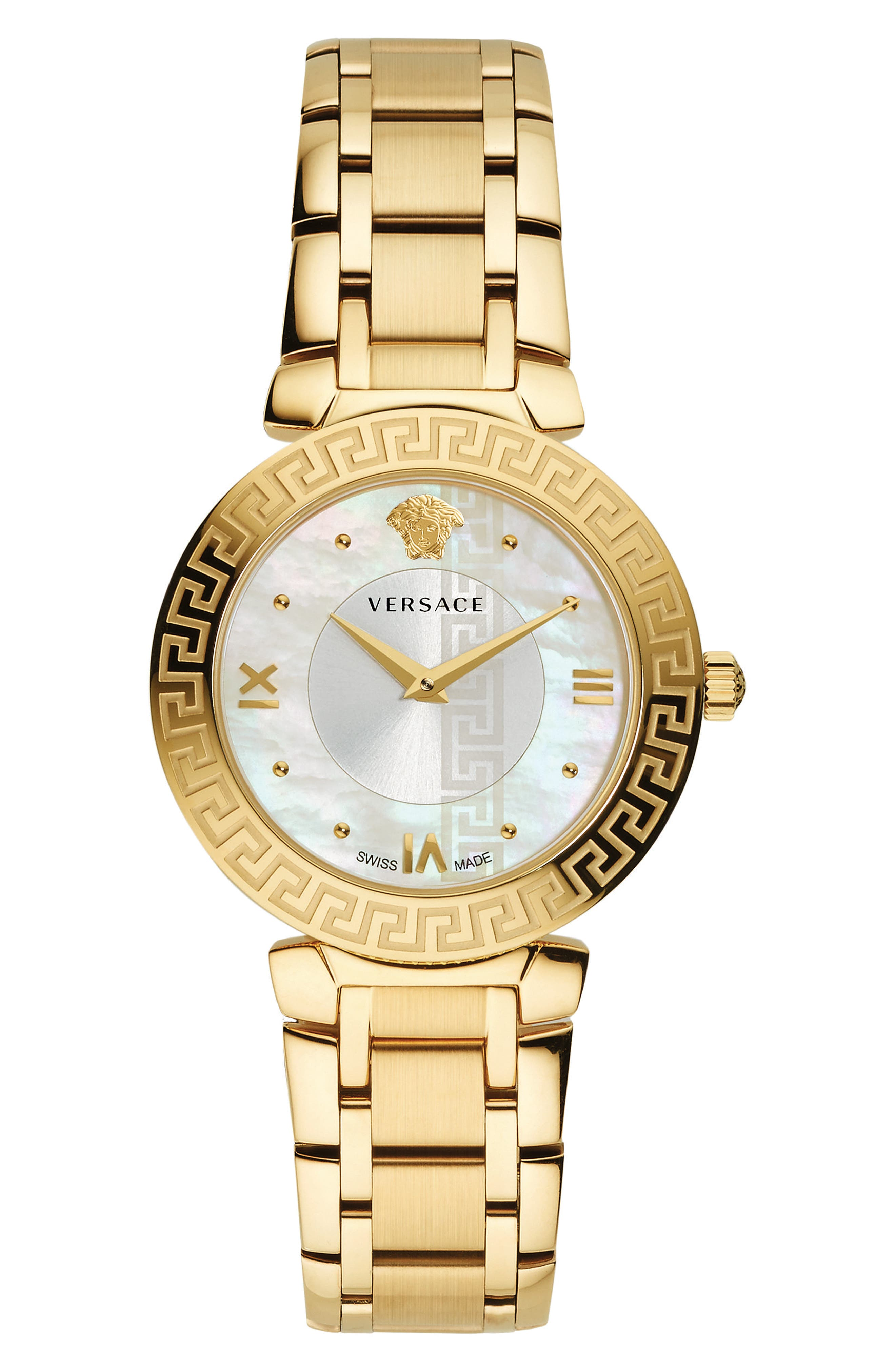 Versace Daphnis Bracelet Watch, 35mm