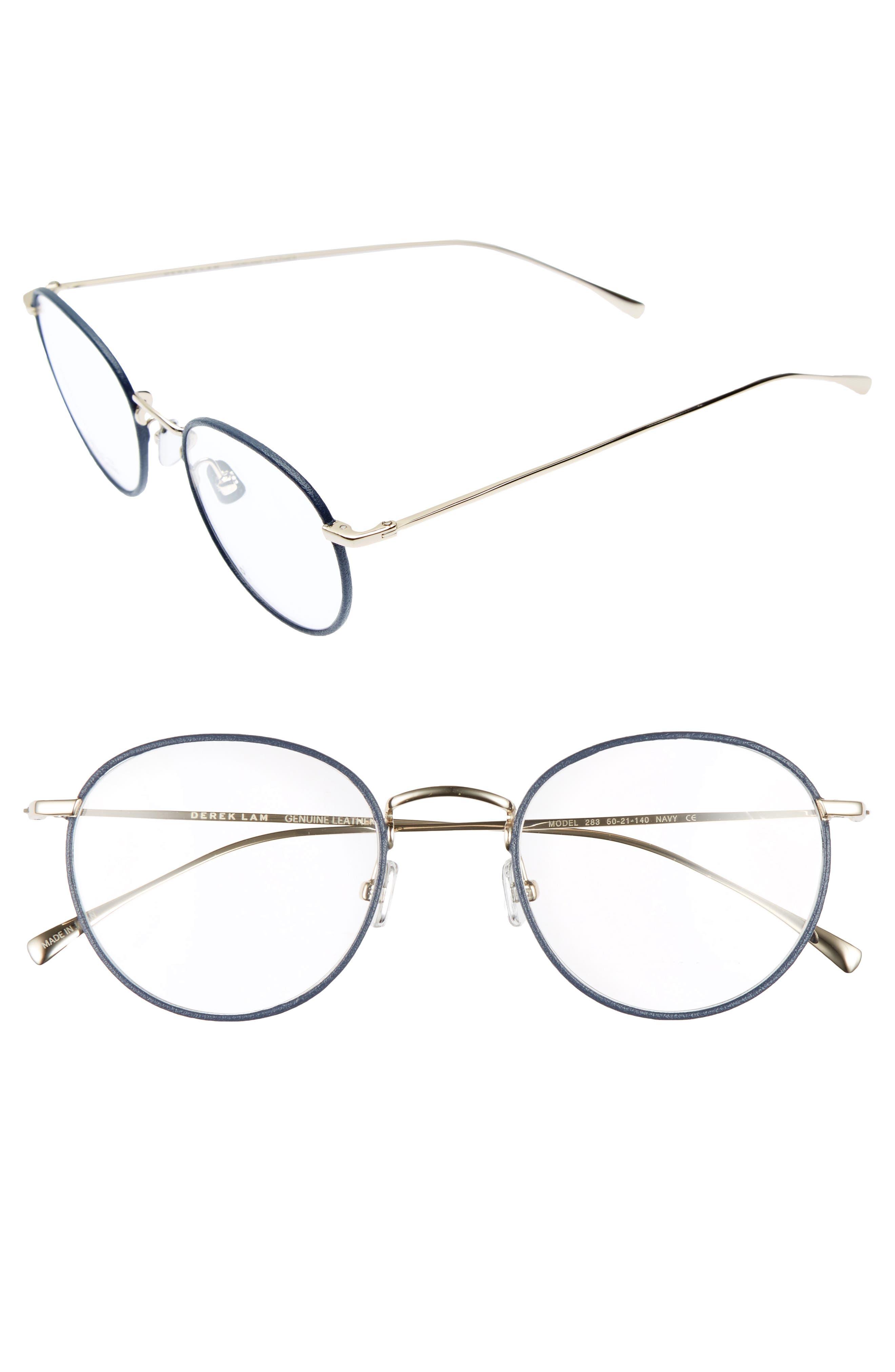50mm Optical Glasses,                             Main thumbnail 1, color,                             Navy