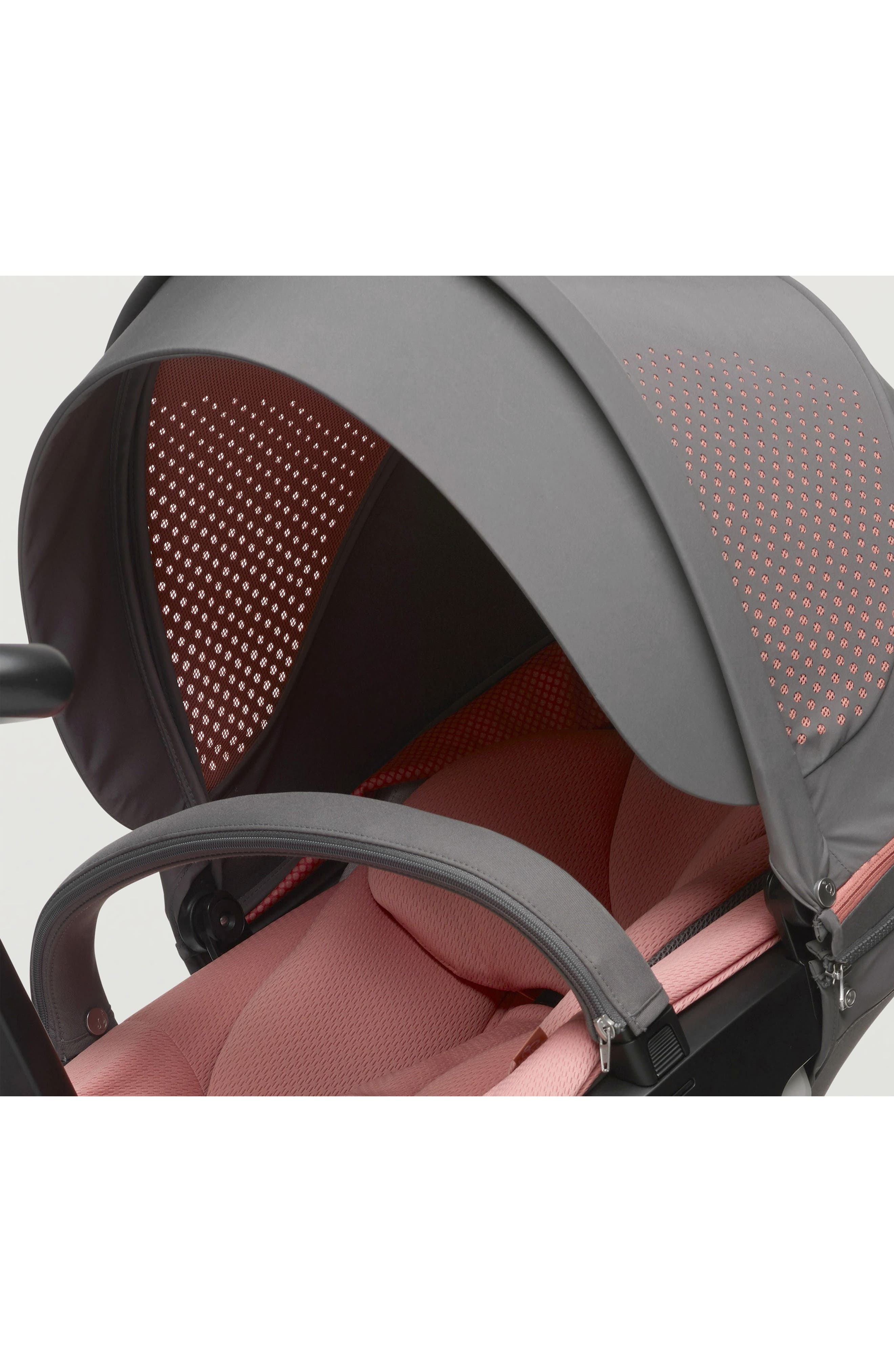 Xplory<sup>®</sup> V5 Coral Athleisure Stroller,                             Alternate thumbnail 5, color,                             Coral