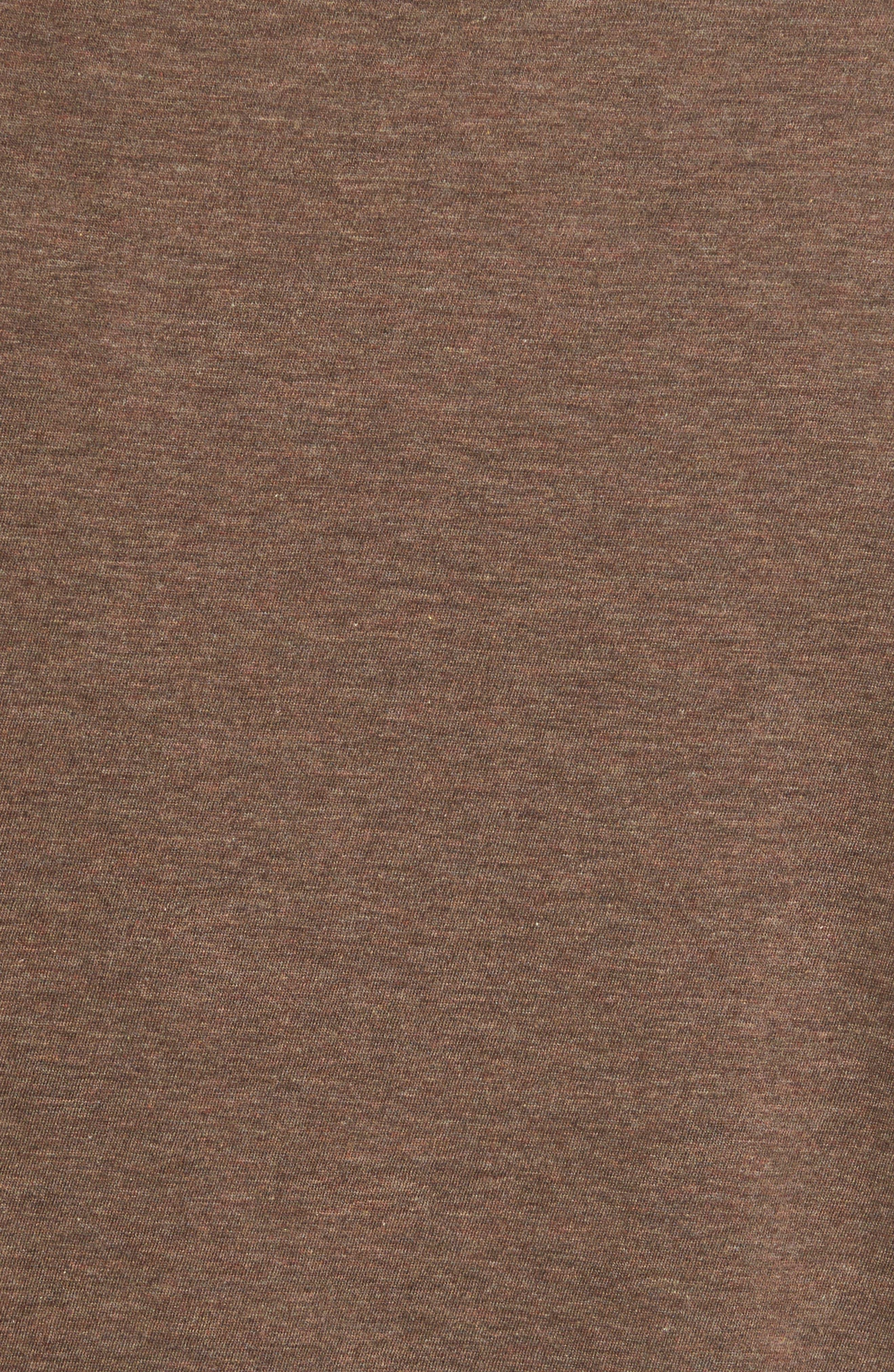 Regular Fit Crewneck T-Shirt,                             Alternate thumbnail 6, color,                             Bark