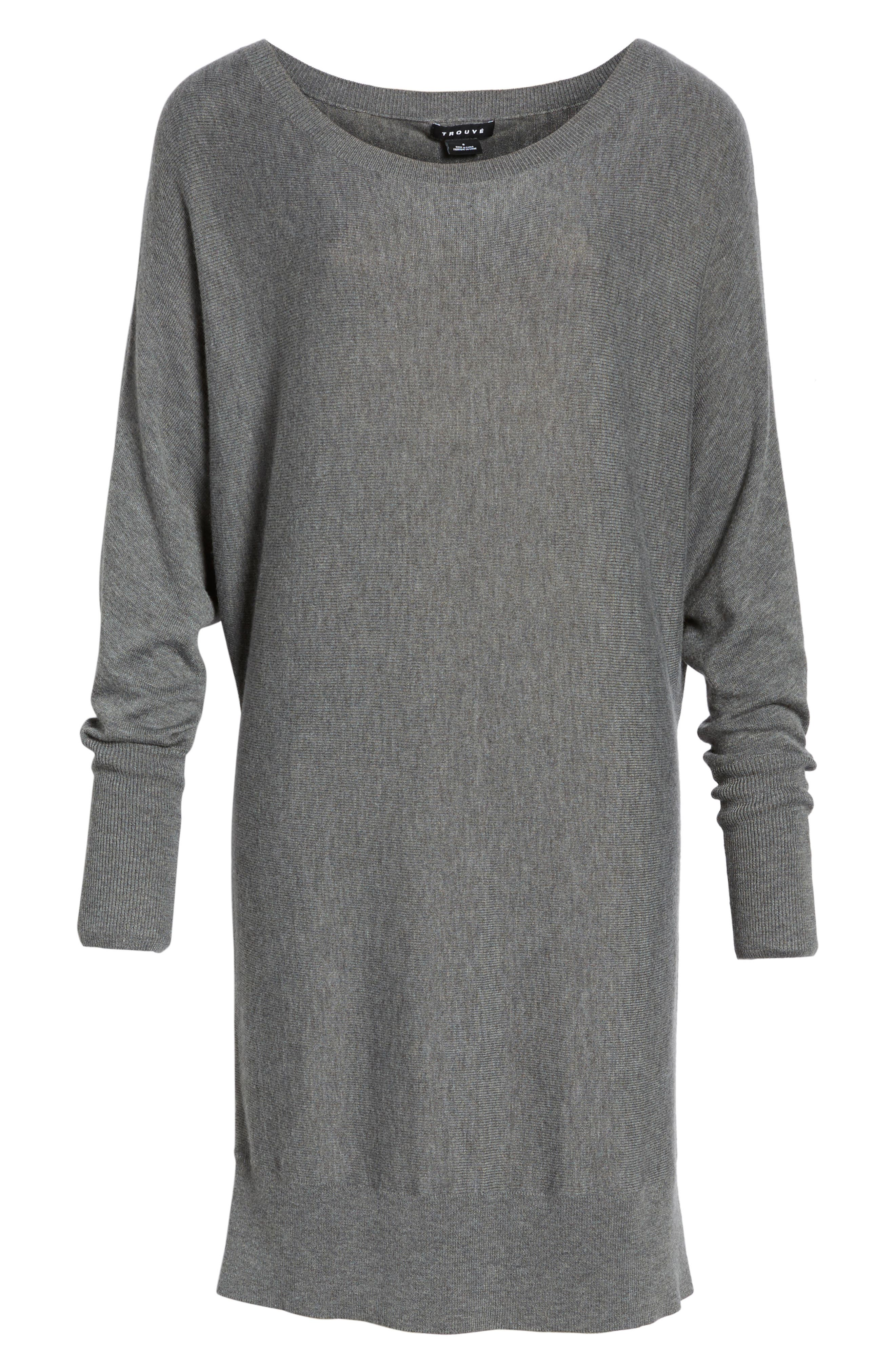 Alternate Image 6  - Trouvé Off the Shoulder Sweater Tunic