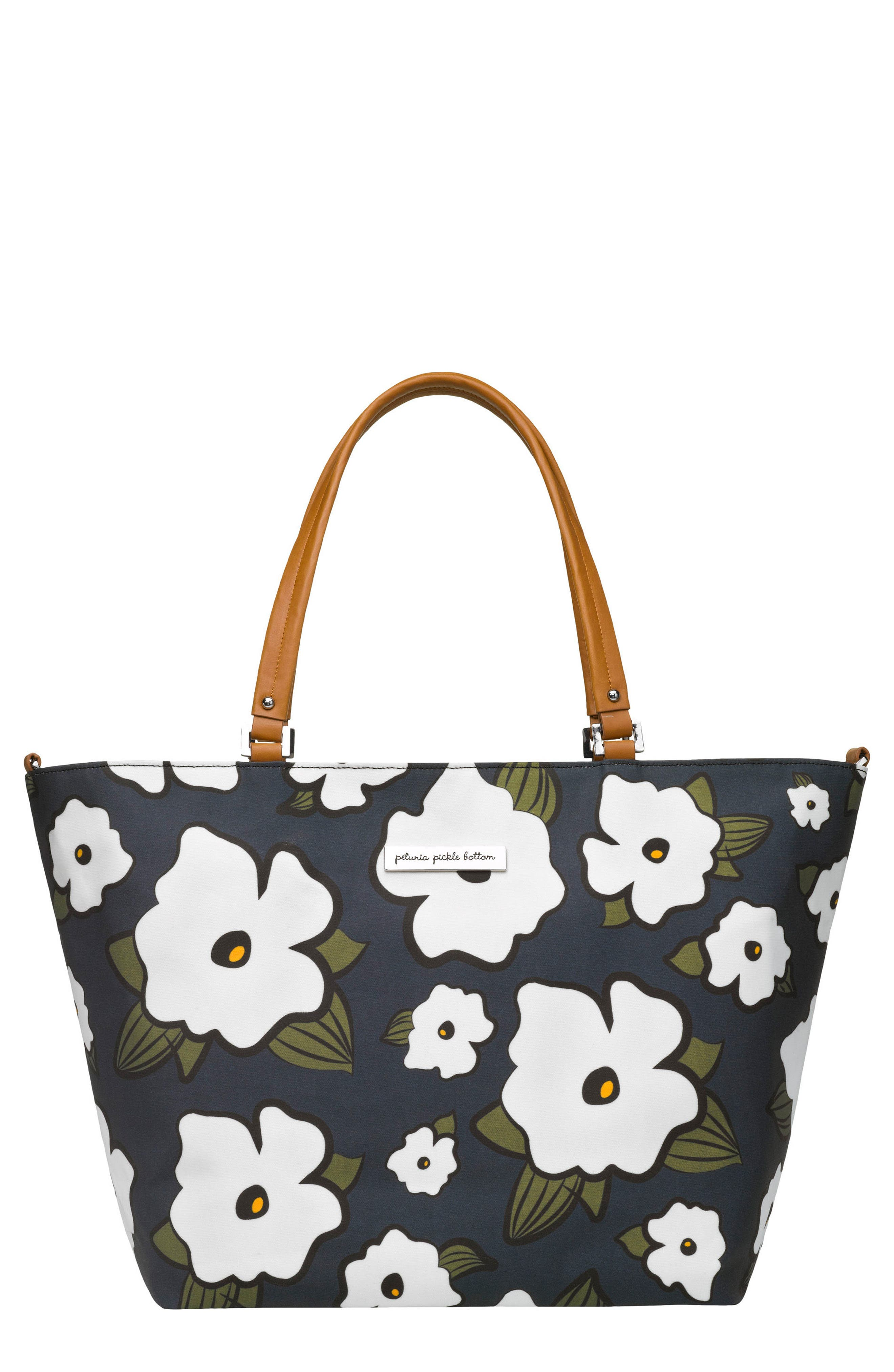 'Altogether' Glazed Canvas Tote,                             Main thumbnail 1, color,                             Fields Featherstone