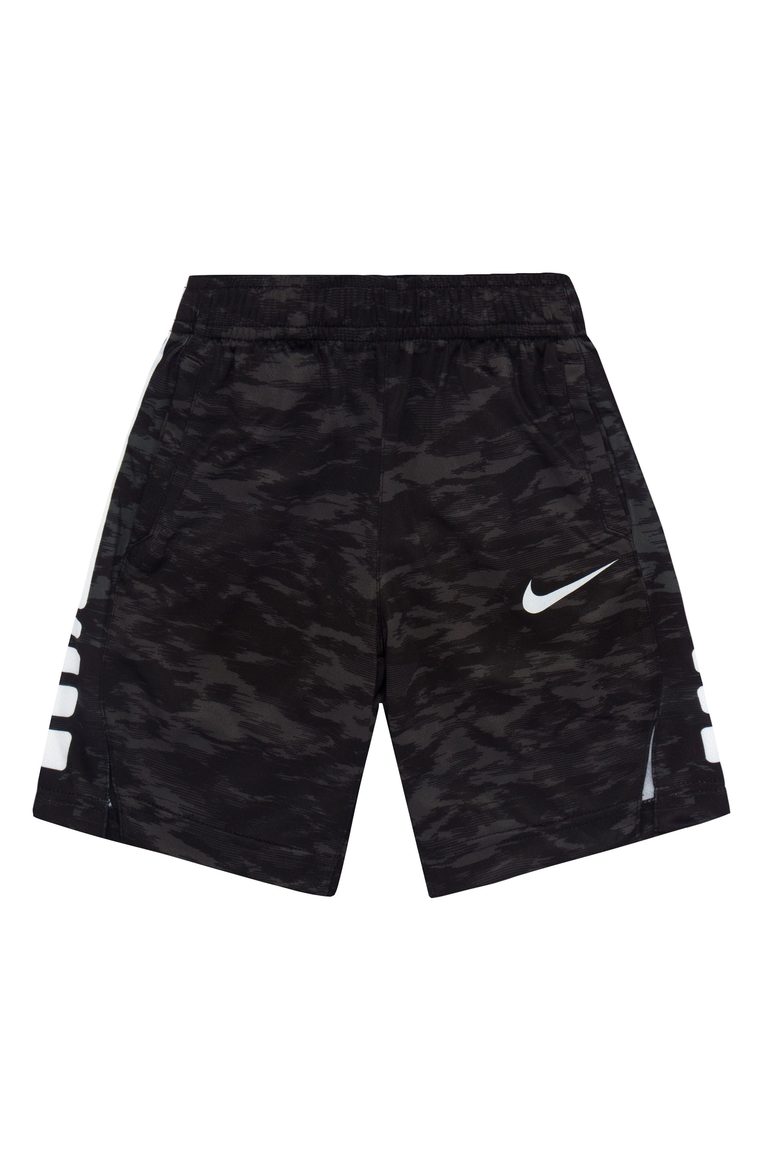 Alternate Image 1 Selected - Nike Vent AOP Shorts (Toddler Boys & Little Boys)