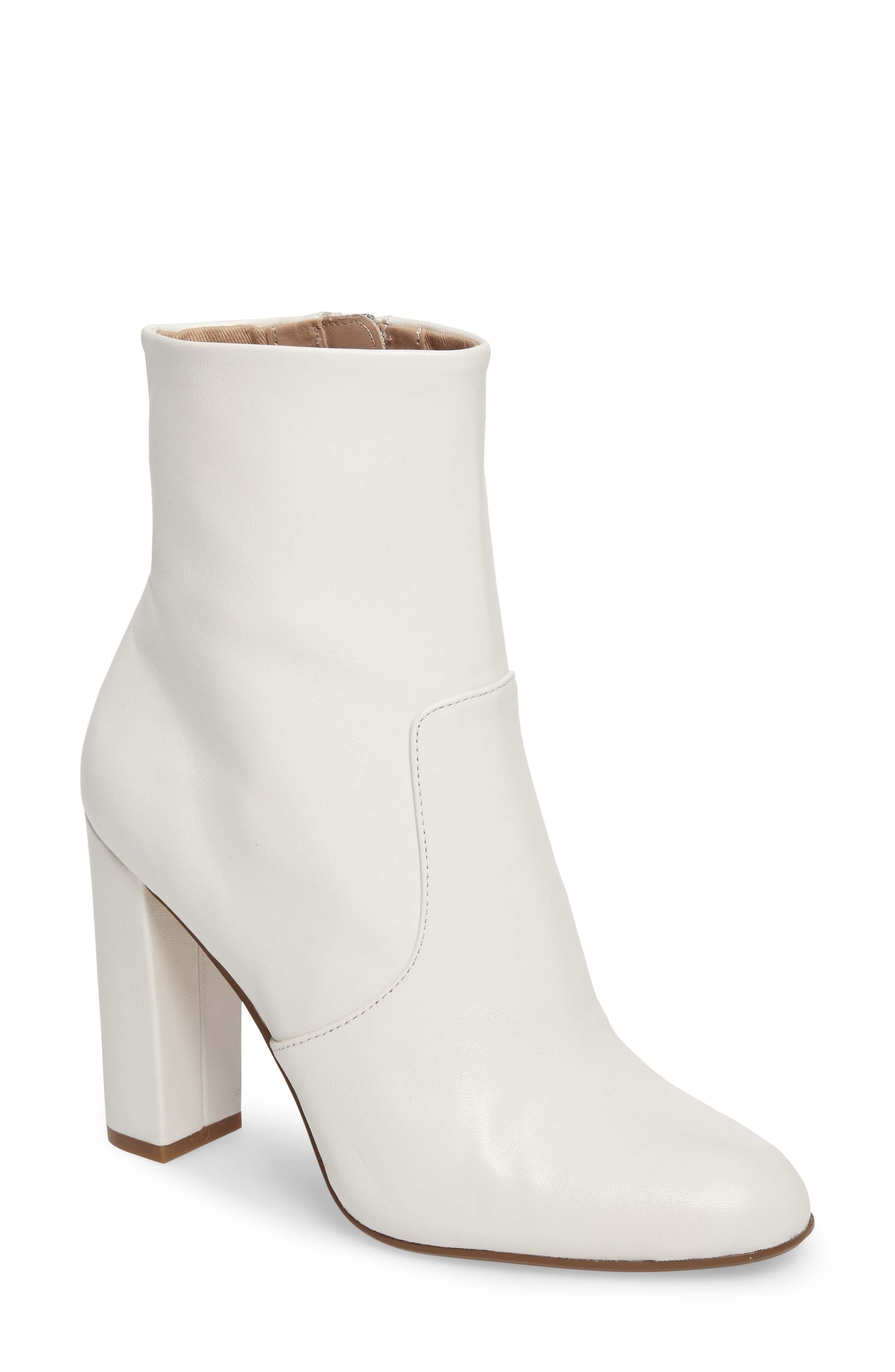 White Heel Booties gFmOOgeY