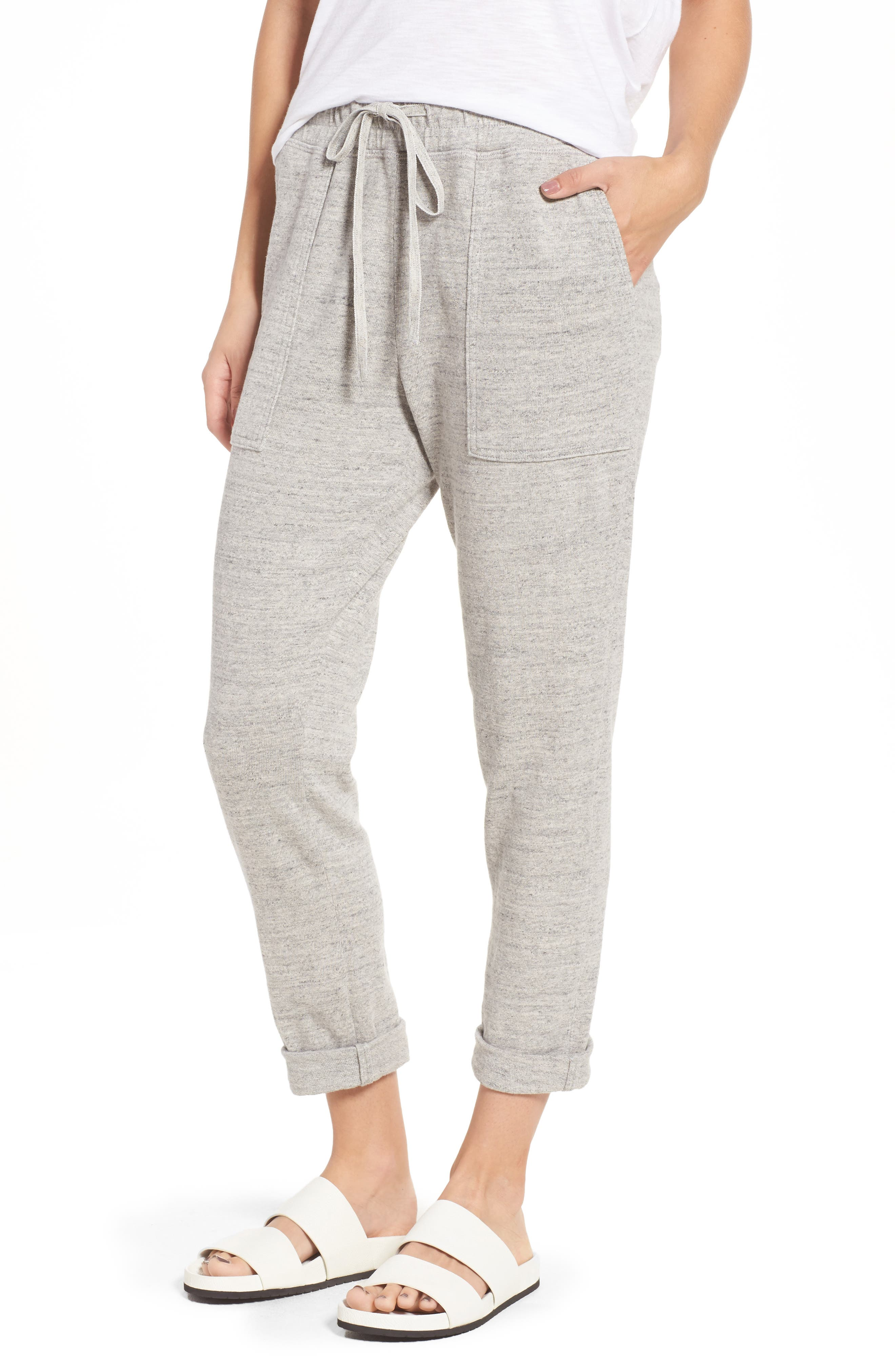 James Perse Relaxed Tapered Sweatpants