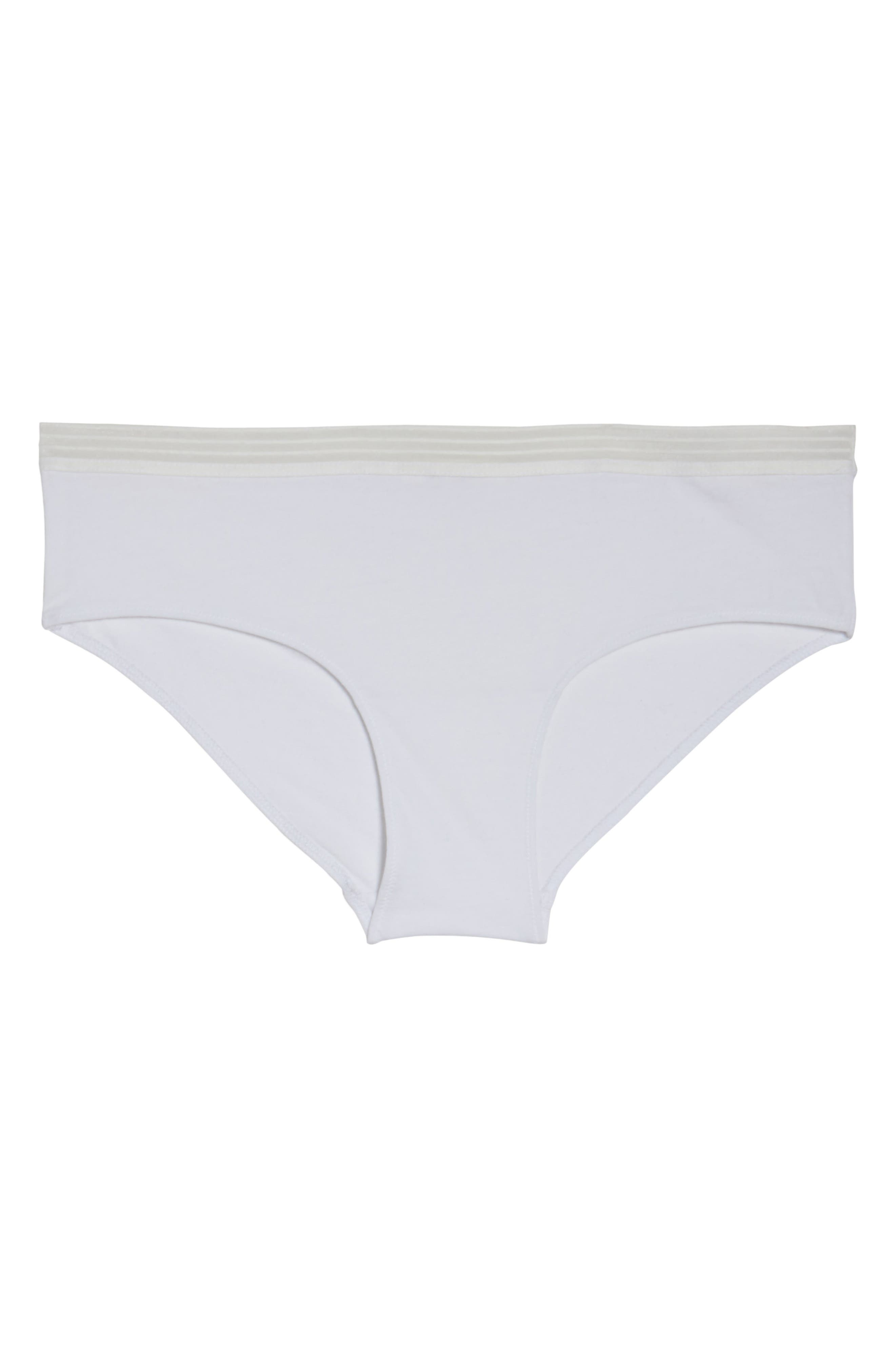 Sienna Hipster Briefs,                             Alternate thumbnail 4, color,                             White