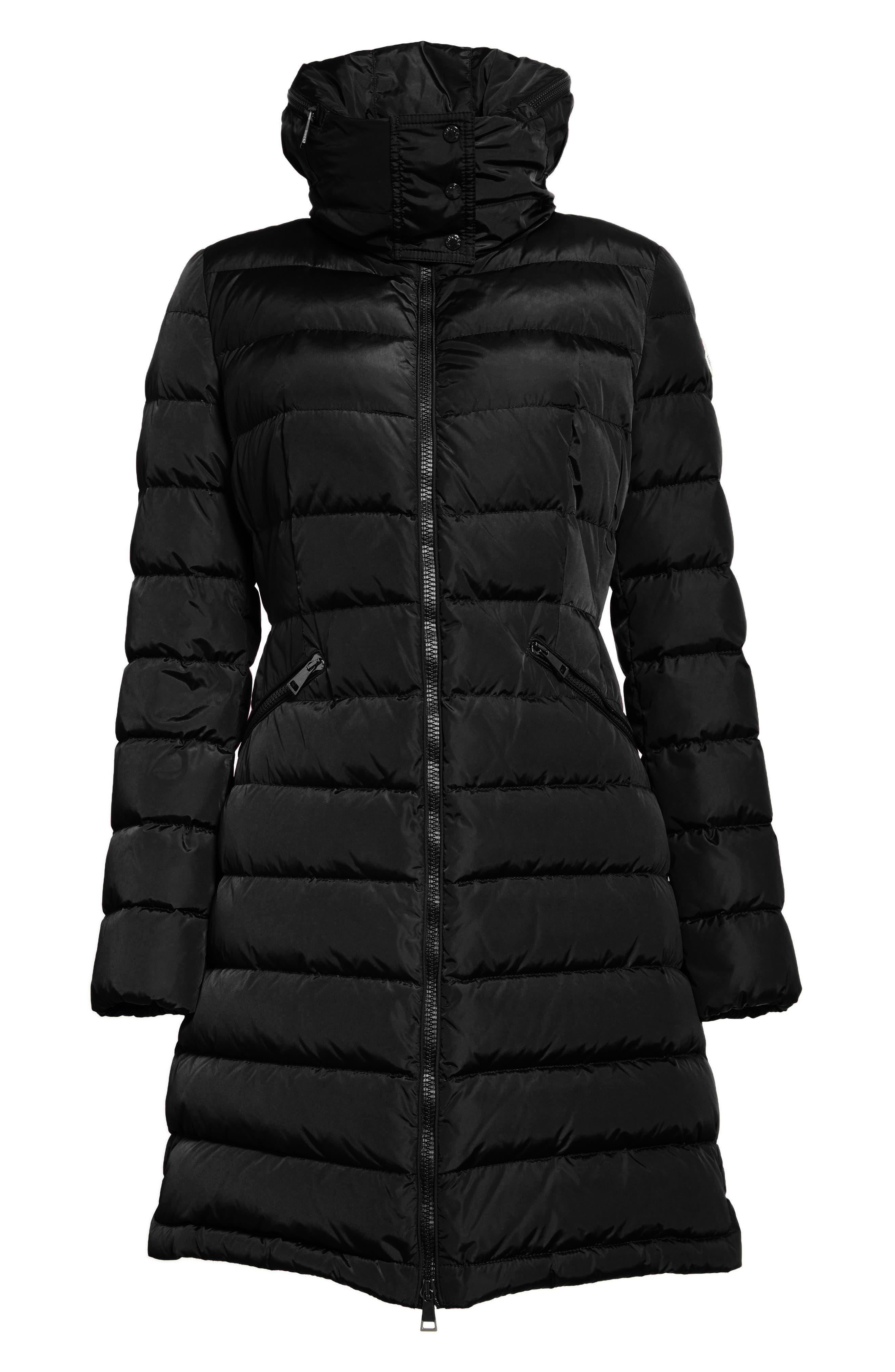 Alternate Image 6  - Moncler 'Flammette' Water Resistant Long Hooded Down Coat