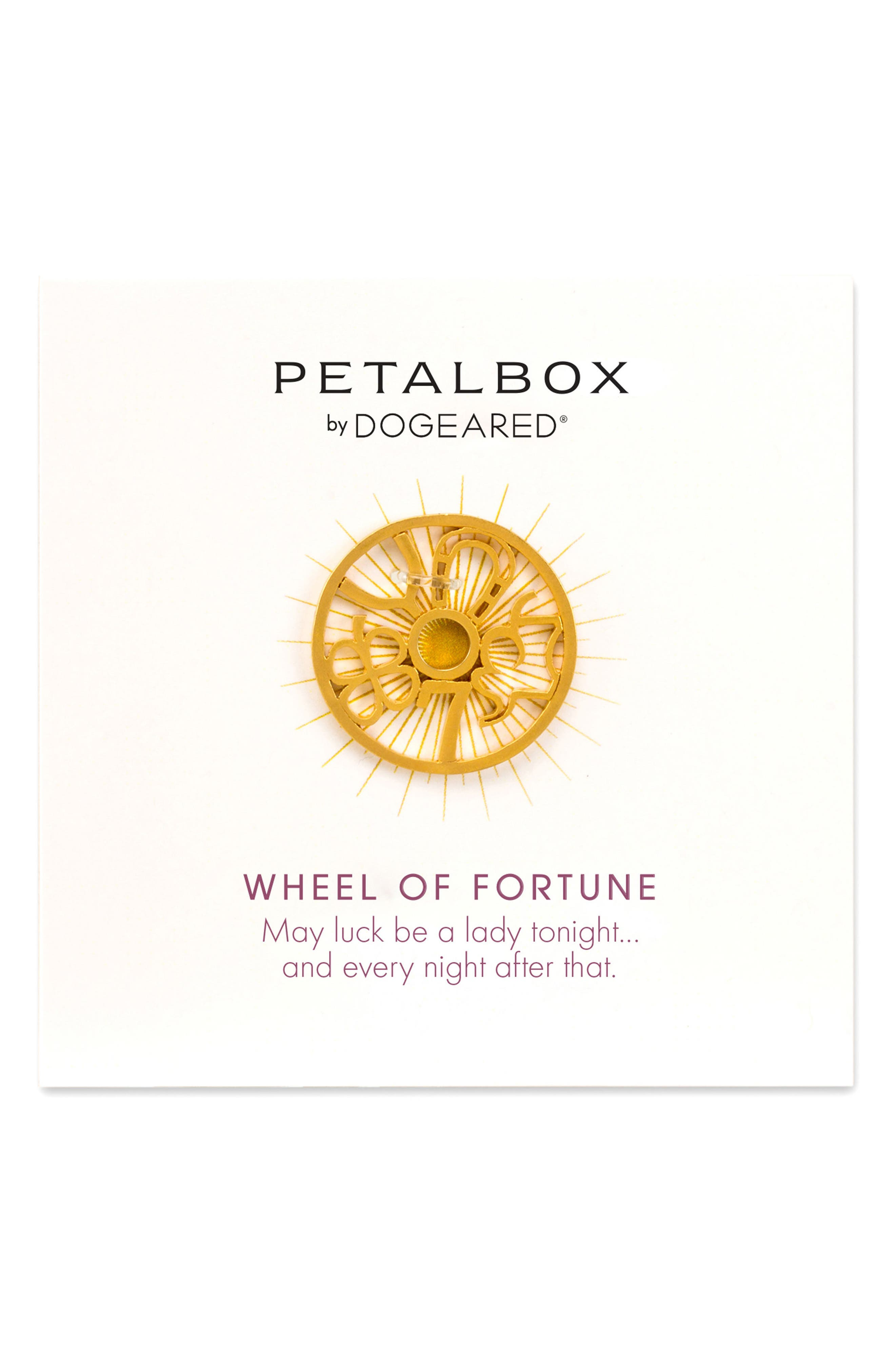 Main Image - Dogeared Pedalbox Wheel of Fortune Enhancer (Nordstrom Exclusive)