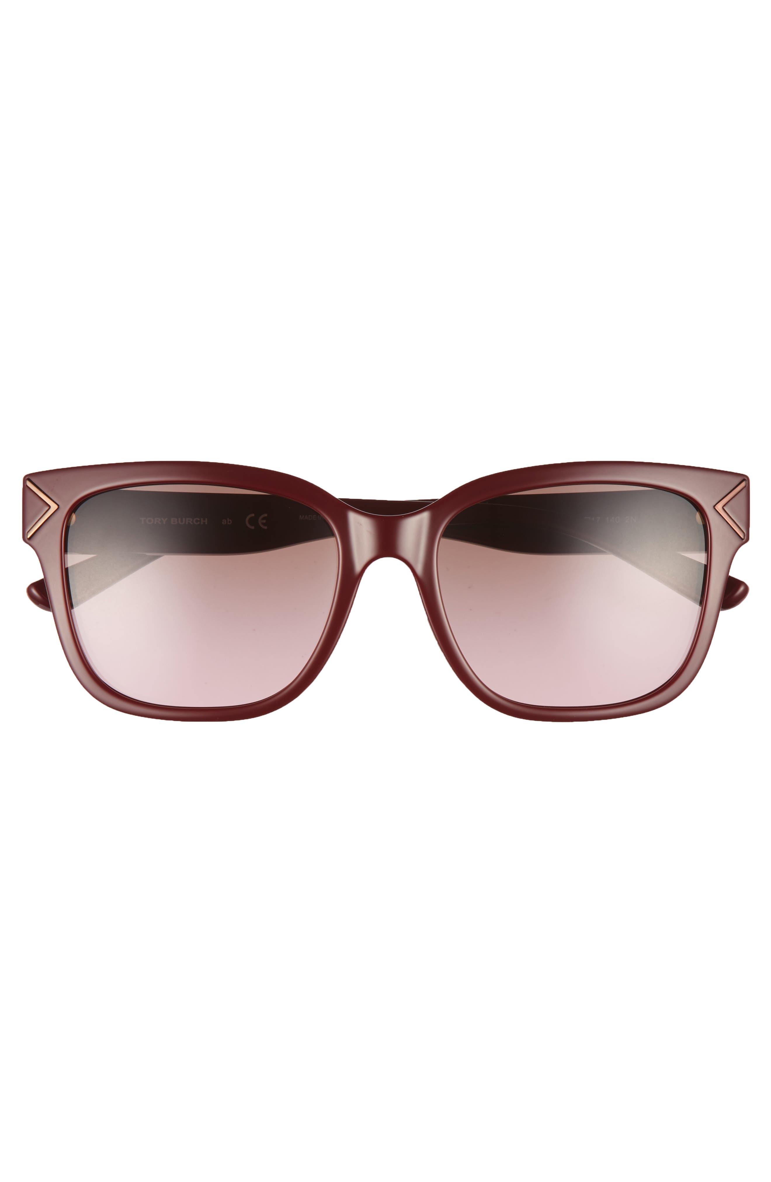 Alternate Image 3  - Tory Burch 55mm Gradient Sunglasses