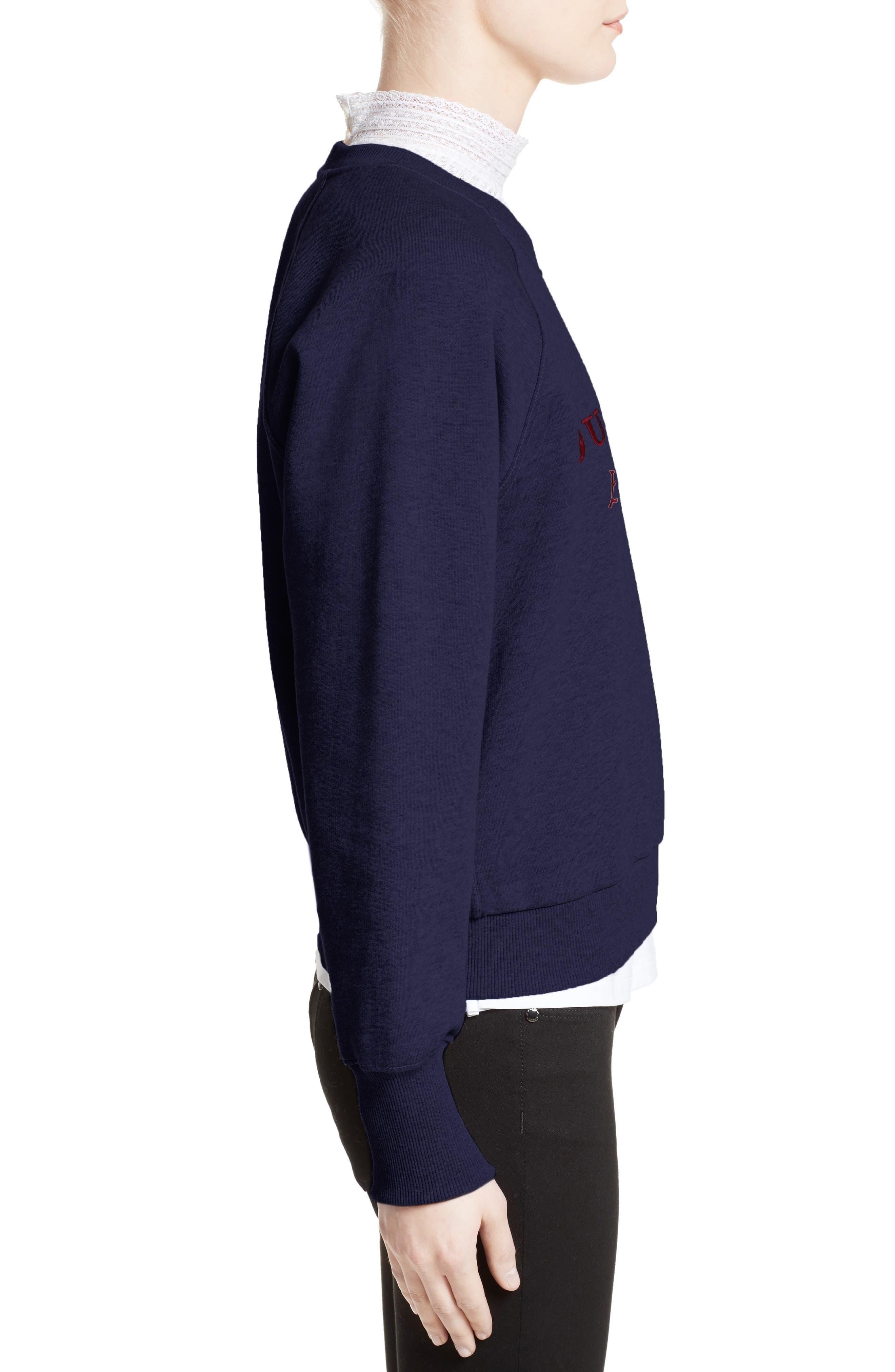 Alternate Image 4  - Burberry Torto Embroidered Sweatshirt