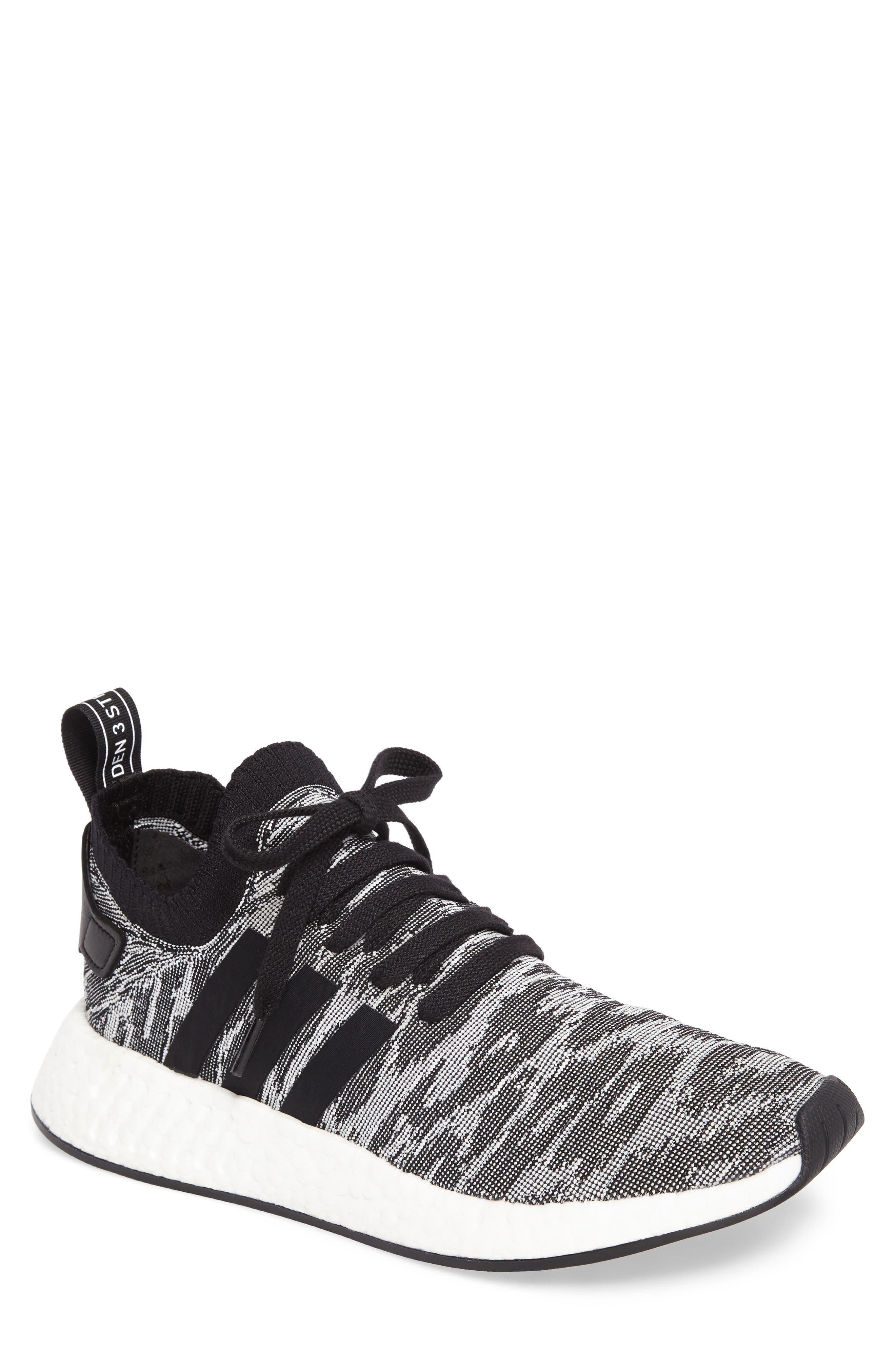 Alternate Image 1 Selected - adidas NMD R2 Primeknit Running Shoe (Men)