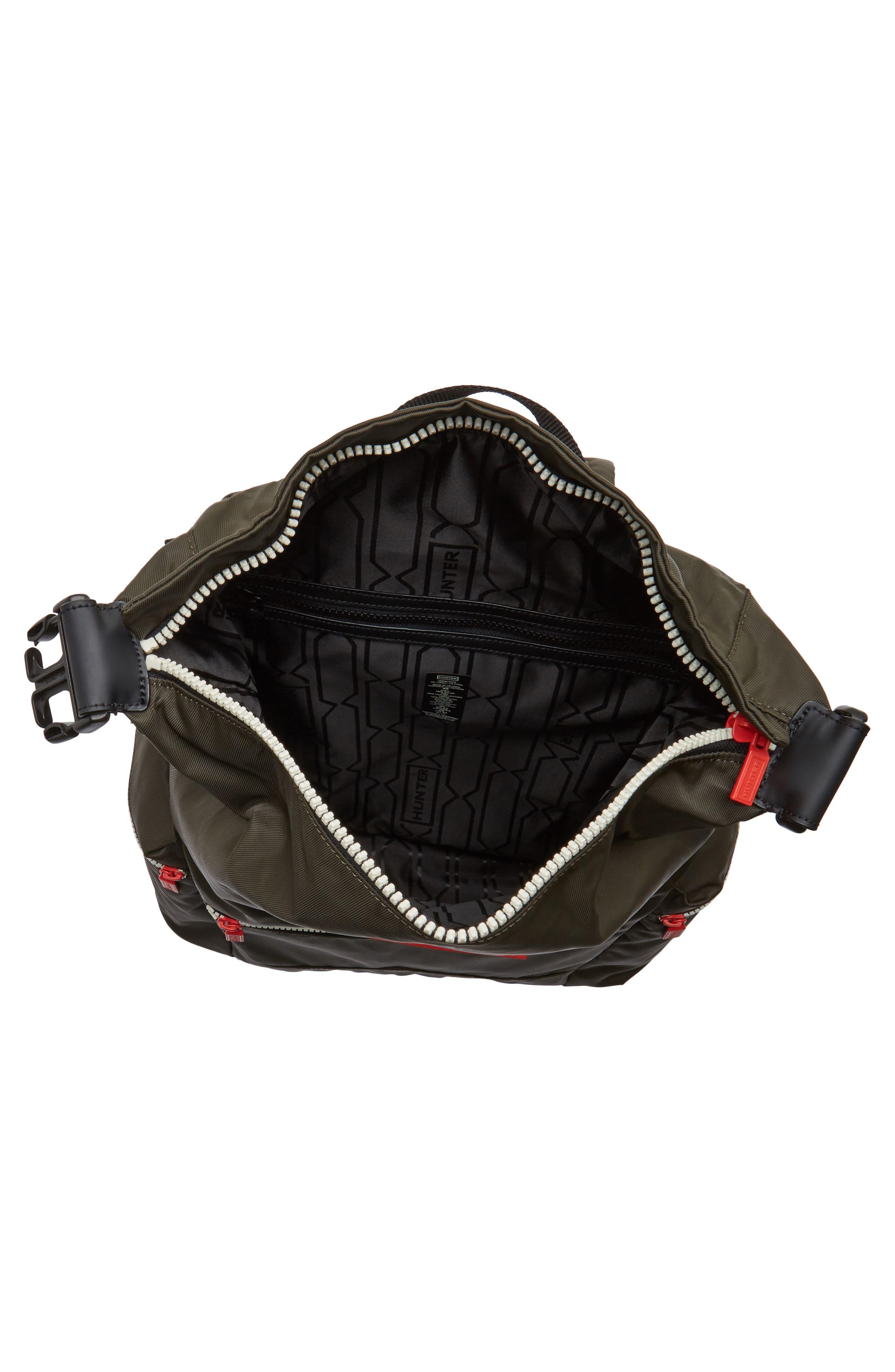 Alternate Image 4  - Hunter Original Top Clip Nylon Backpack