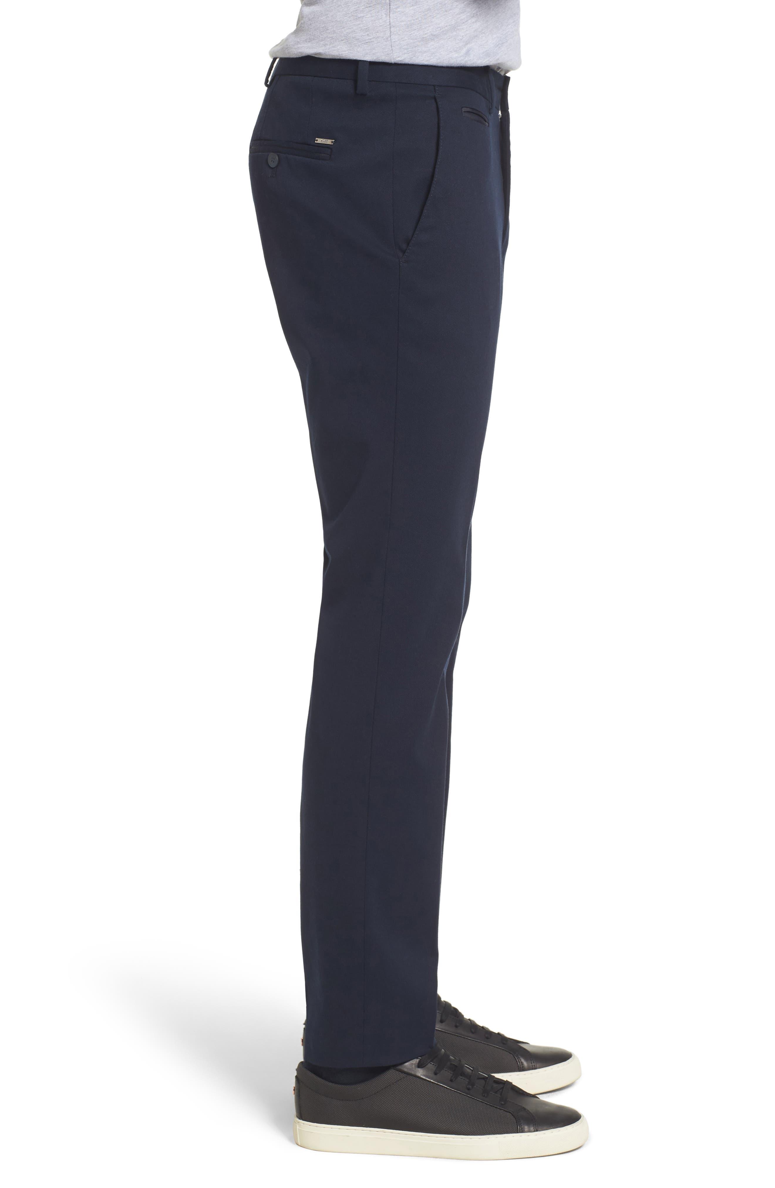 Batho-W Regular Fit Trousers,                             Alternate thumbnail 3, color,                             Navy