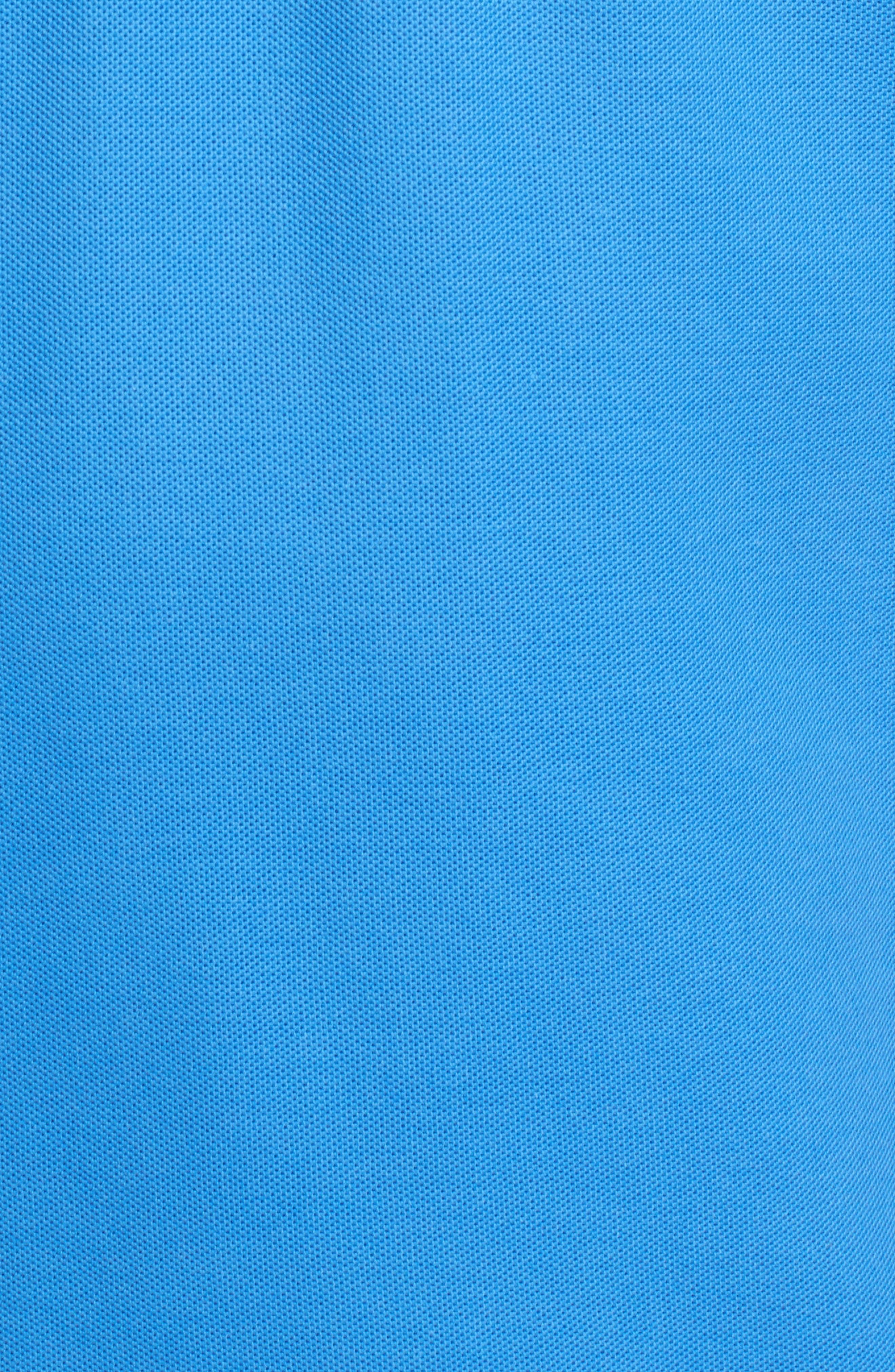 Classic Logo Appliqué Polo,                             Alternate thumbnail 5, color,                             Sapphire