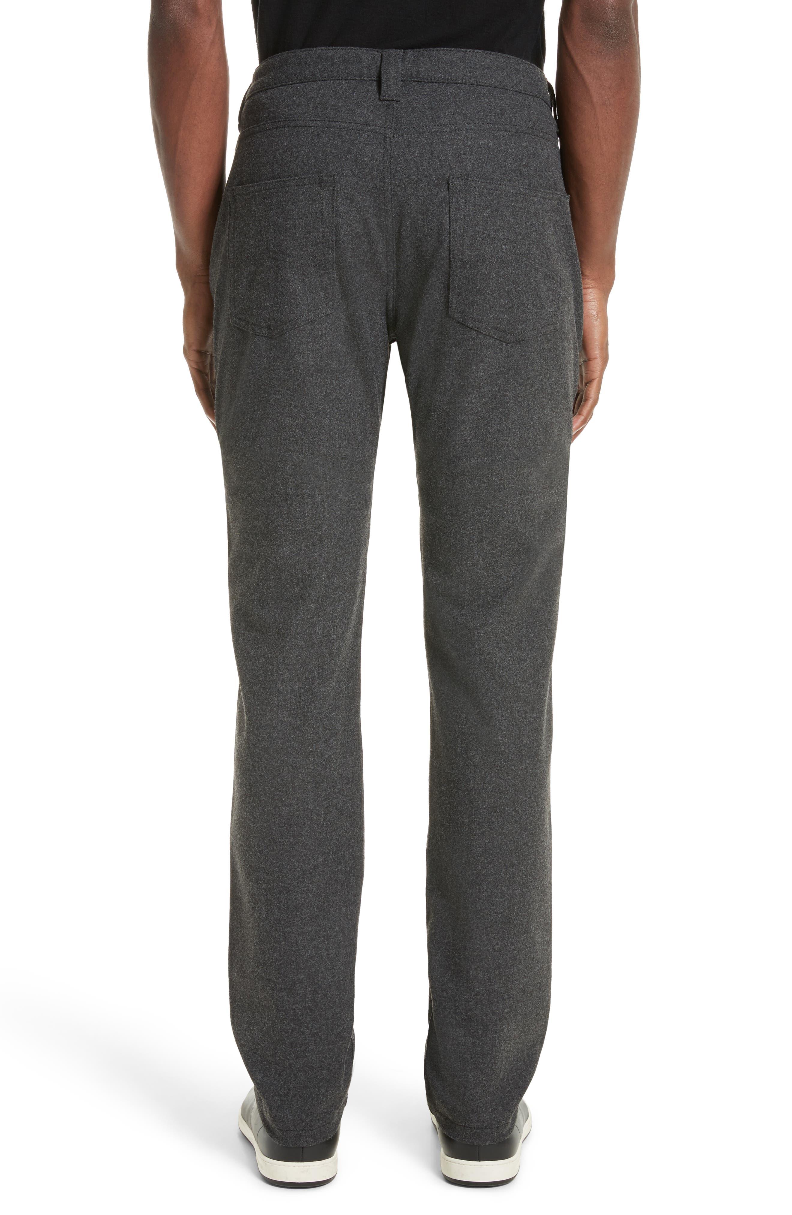 Alternate Image 2  - Armani Collezioni Flannel Sport Pants