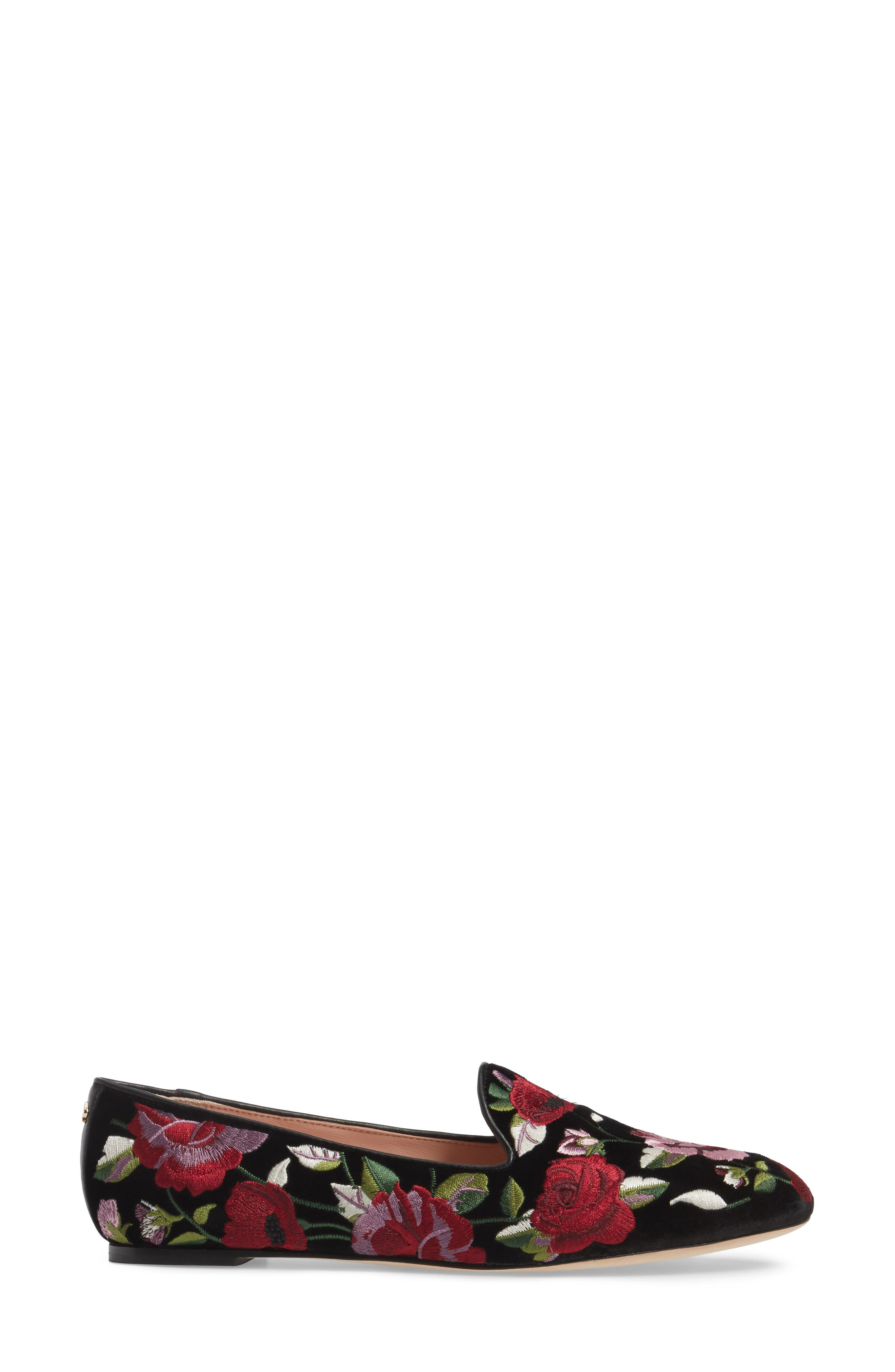 Alternate Image 3  - kate spade new york swinton embroidered loafer (Women)