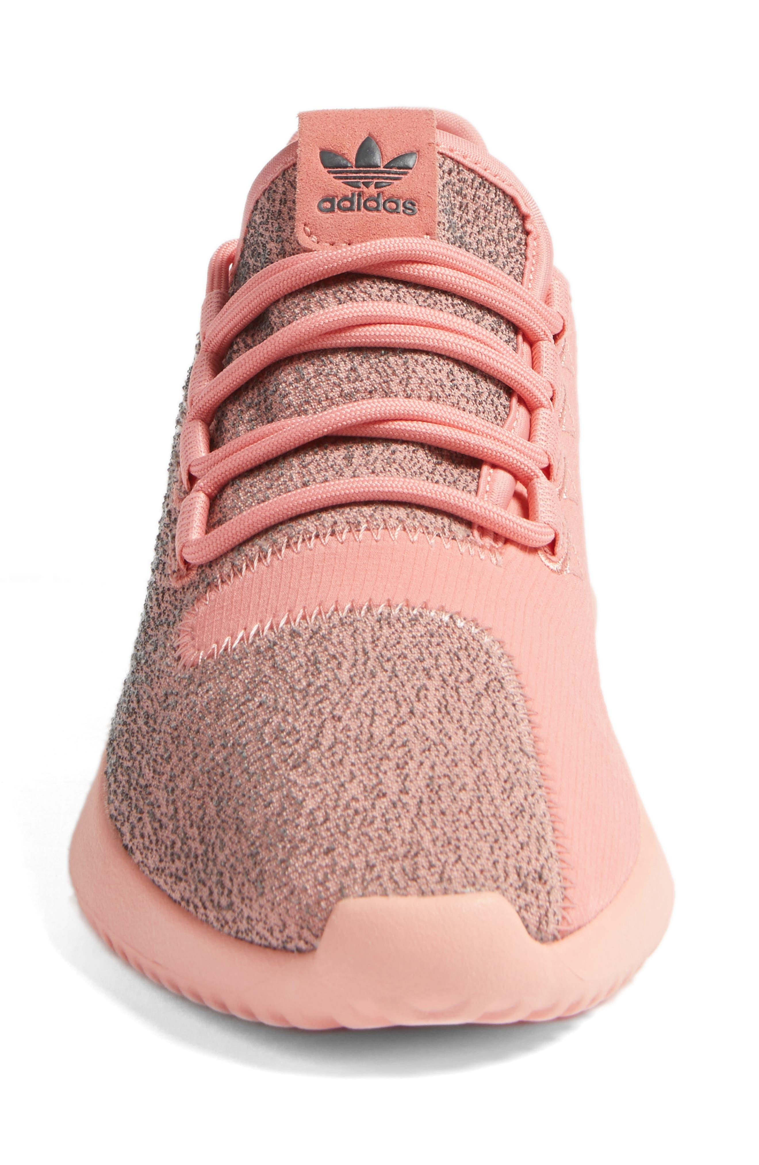 Tubular Shadow Sneaker,                             Alternate thumbnail 4, color,                             Raw Pink/ Raw Pink