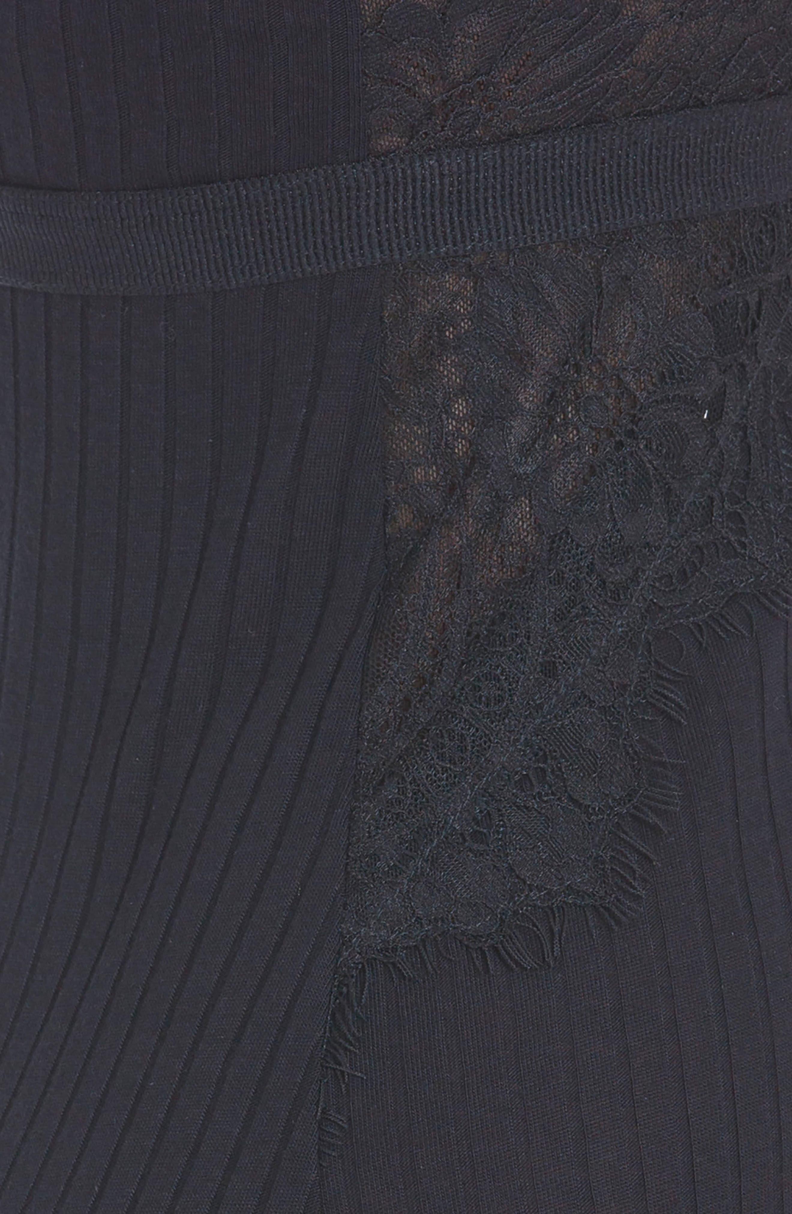 Alternate Image 4  - Midnight Bakery Rib Knit Chemise