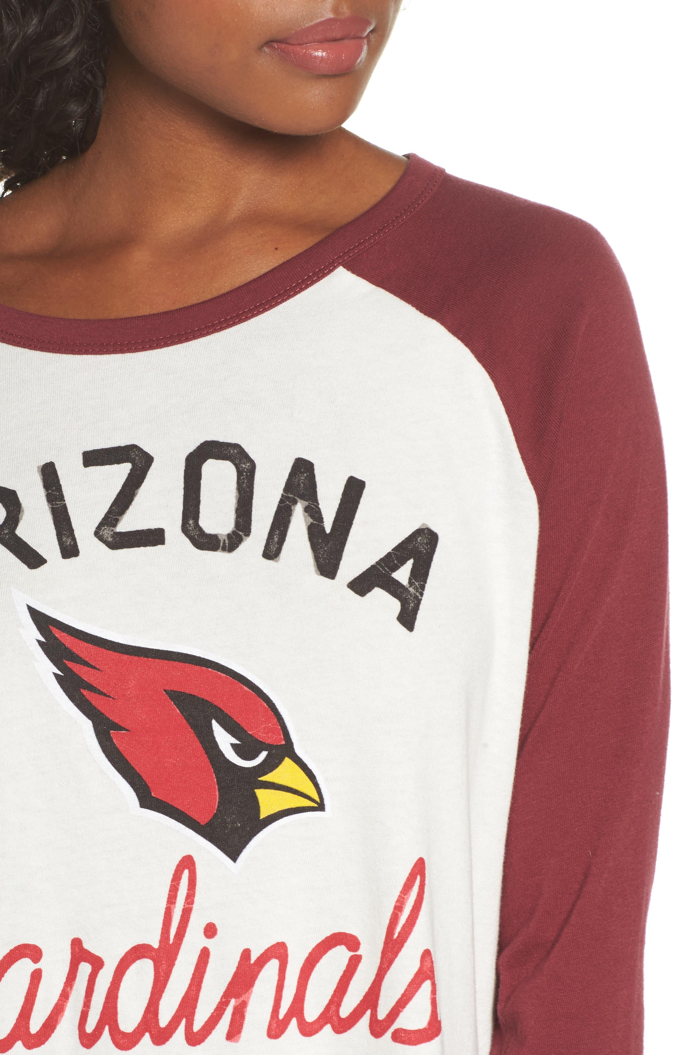Alternate Image 4  - Junk Food NFL Arizona Cardinals Raglan Tee