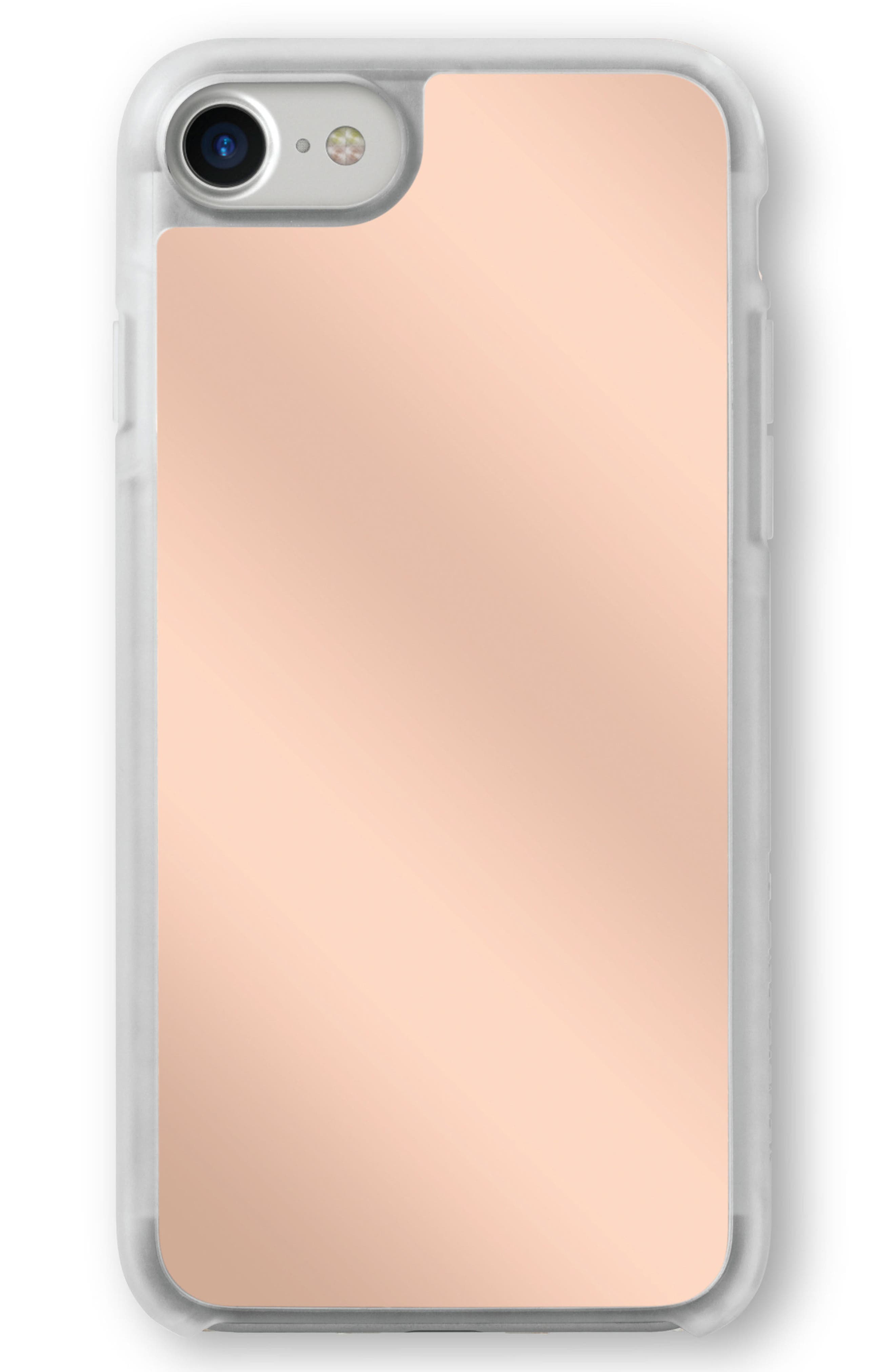 Rose Gold Mirror iPhone 6/6s/7/8 Case,                         Main,                         color, Rose Gold