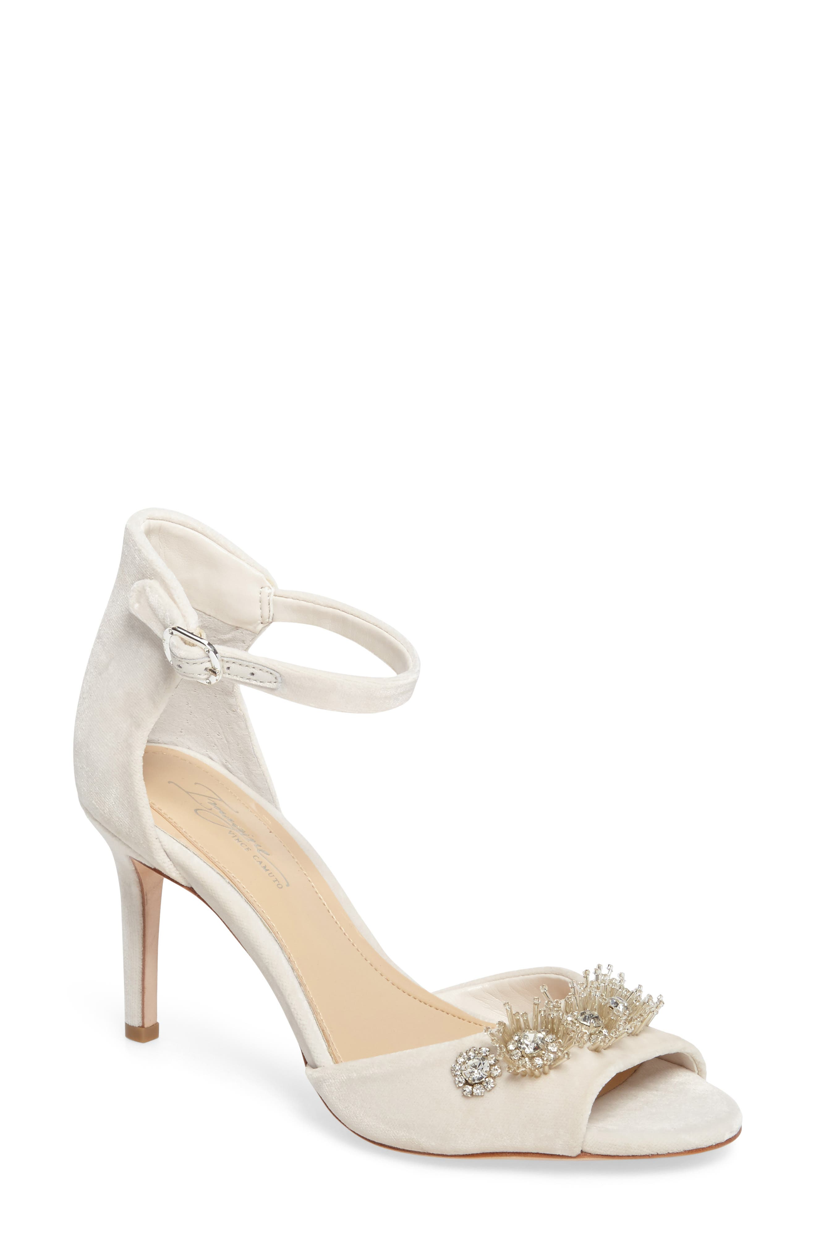 Imagine by Vince Camuto Prisca Embellished Sandal (Women)
