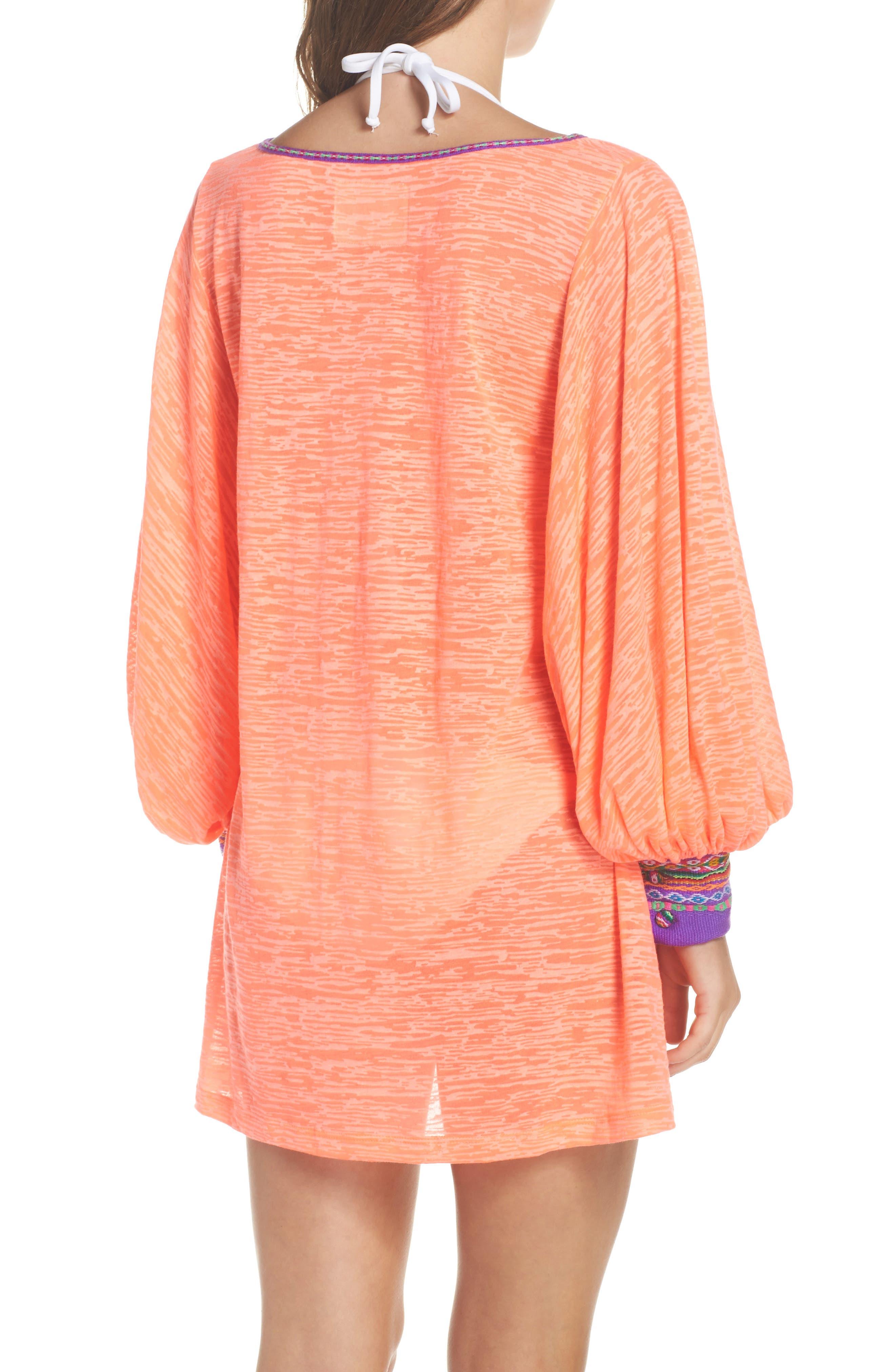 Alternate Image 2  - PITUSA Inca Cover-Up Dress