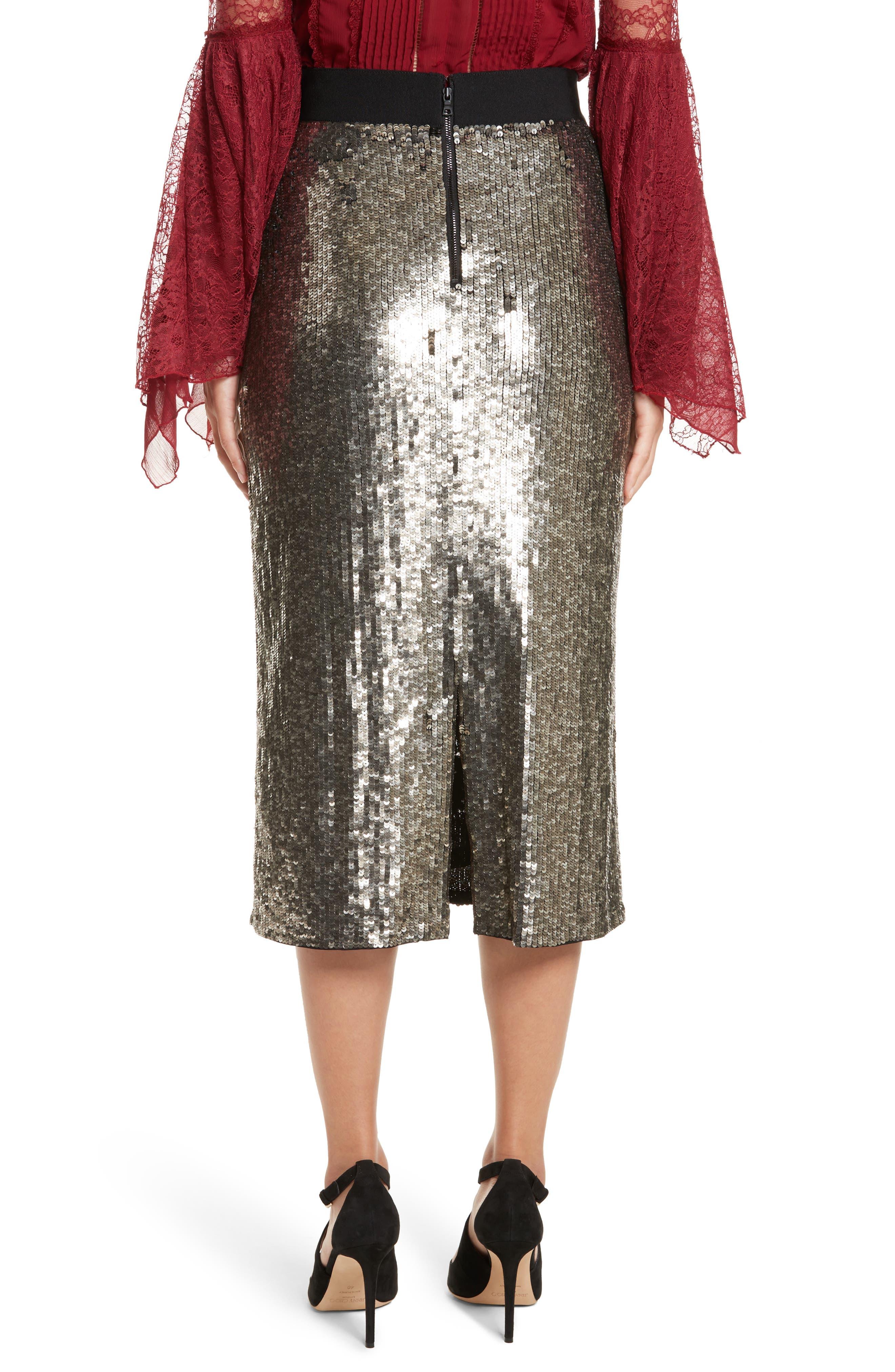 Alternate Image 3  - Alice + Olivia Ella Embellished Midi Skirt