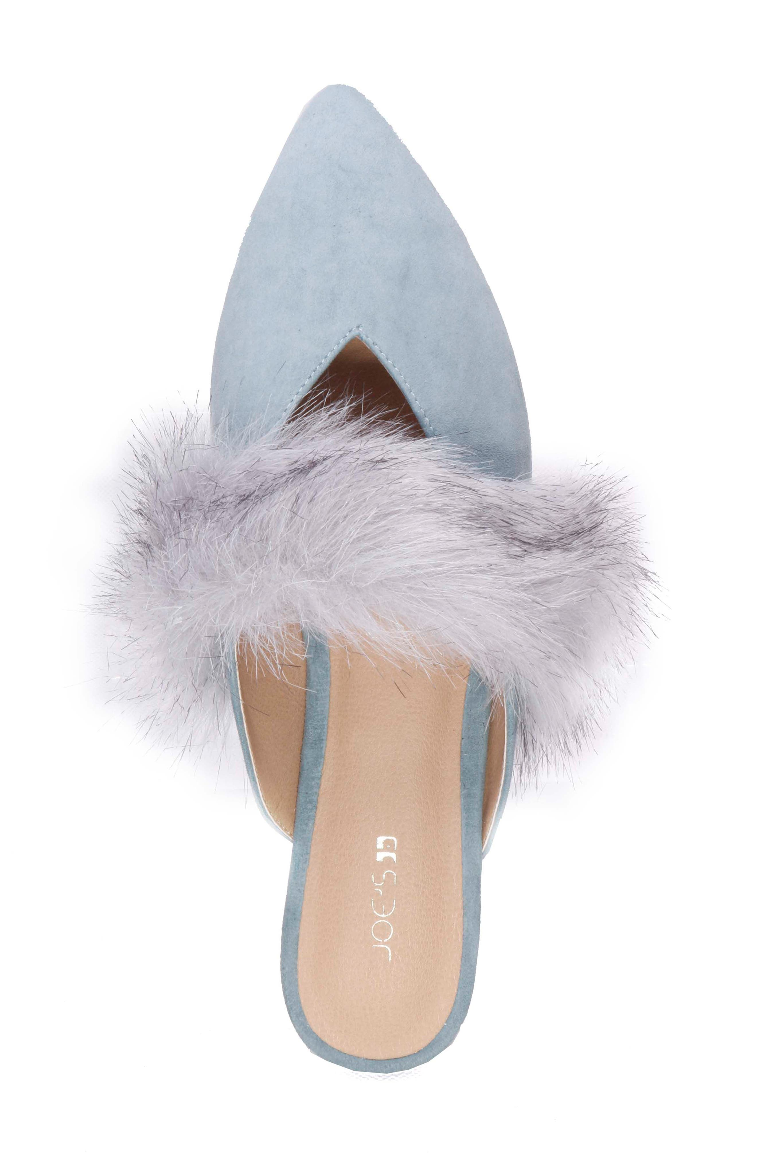 Alternate Image 4  - Joe's Angelique Faux Fur Mule (Women)
