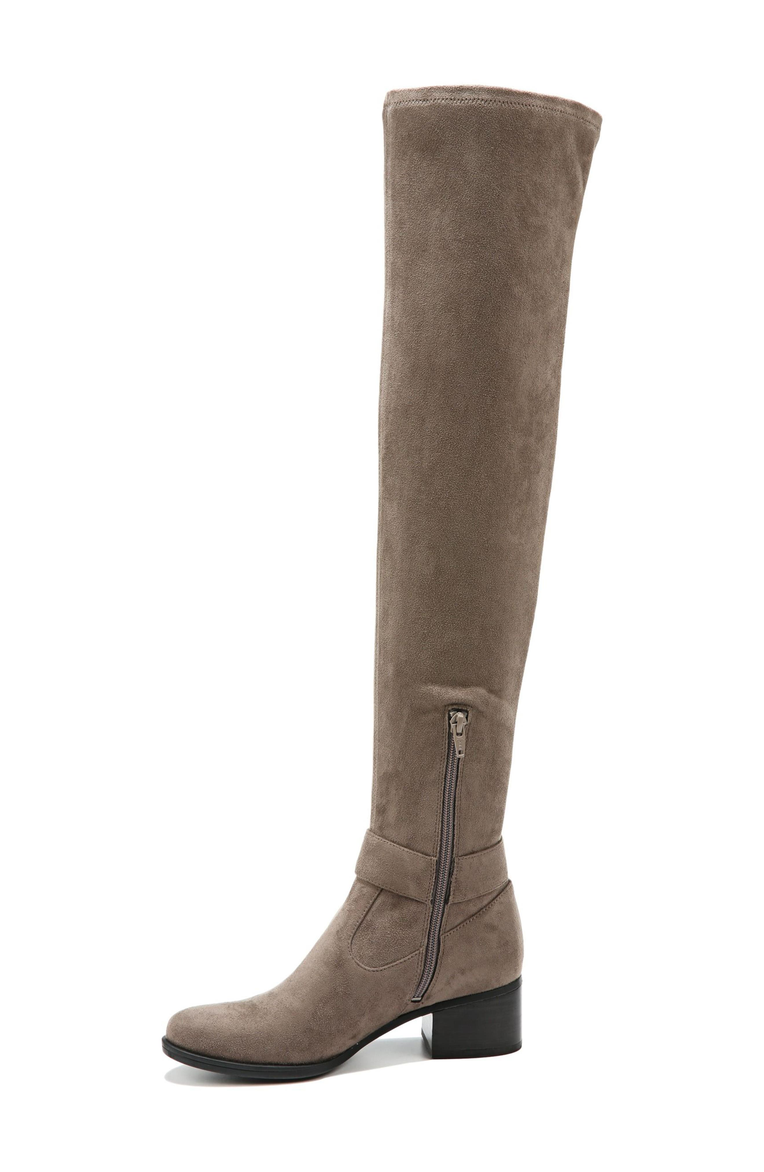 Dalyn Over the Knee Boot,                             Alternate thumbnail 2, color,                             Modern Grey Stretch Microfiber