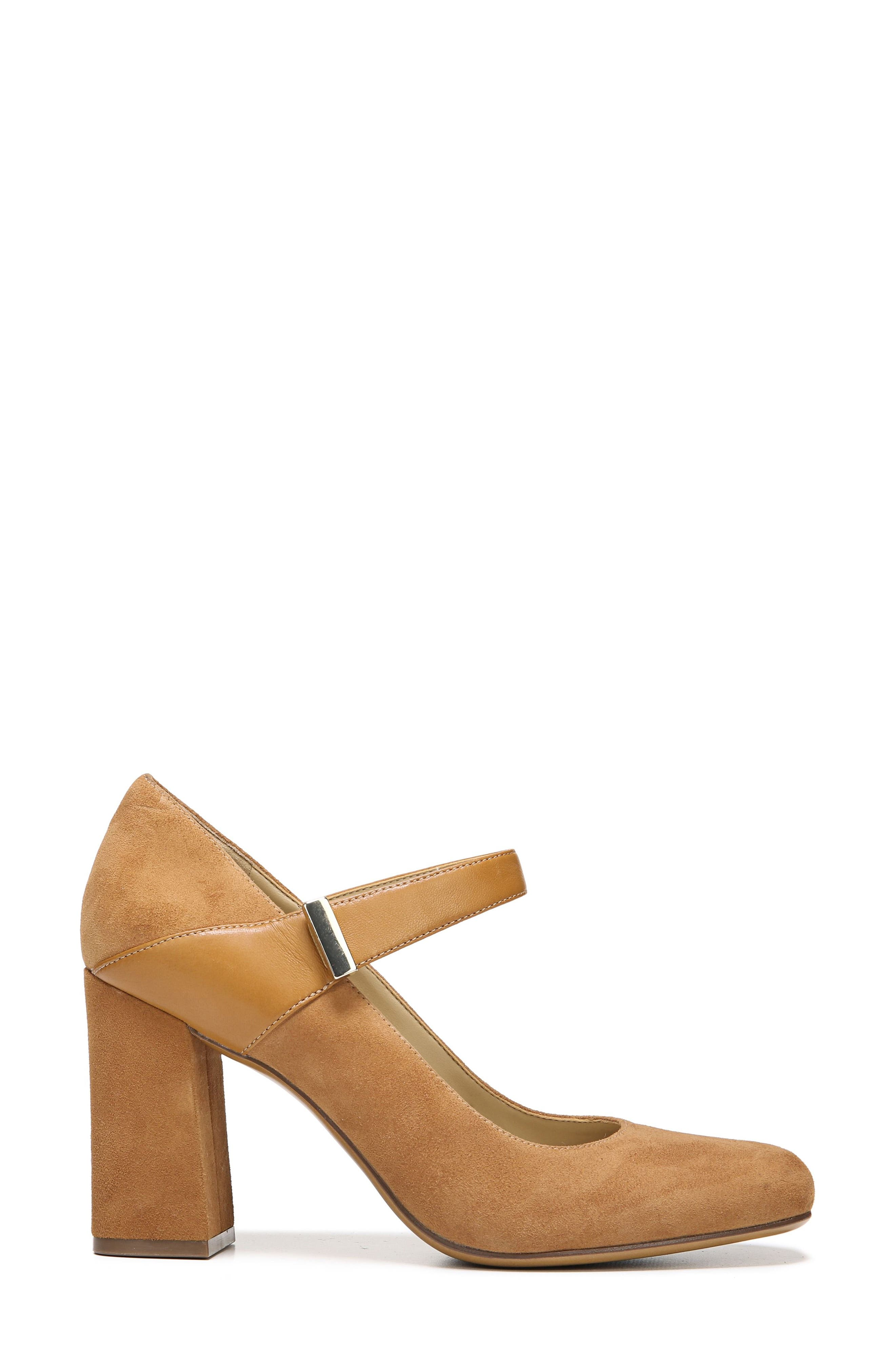 Reva Mary Jane Pump,                             Alternate thumbnail 3, color,                             Camelot Suede