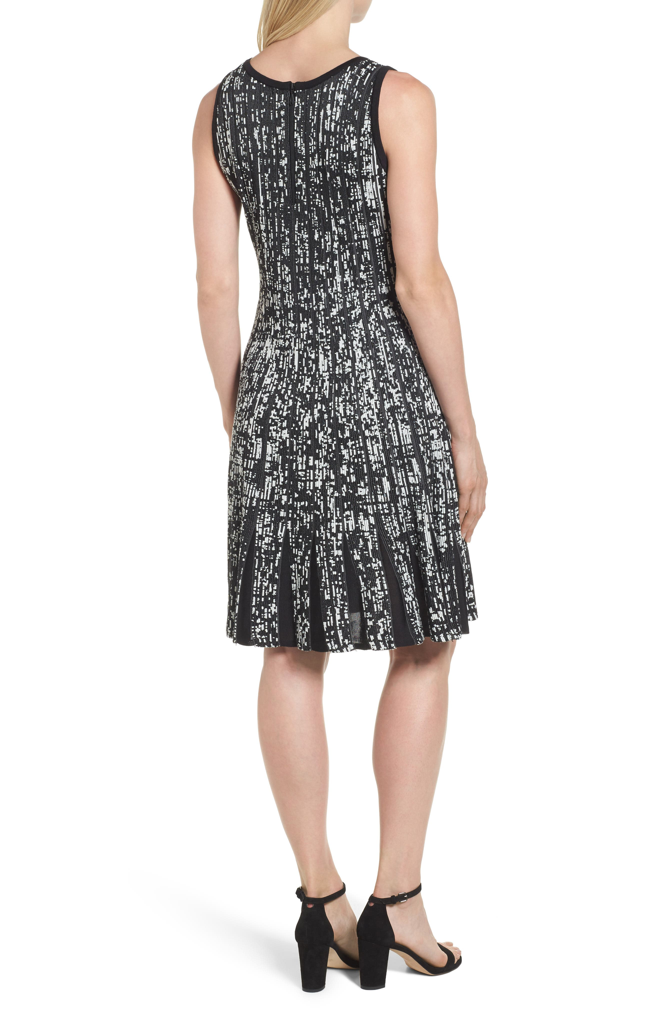 Boulevard Twirl Dress,                             Alternate thumbnail 2, color,                             Multi
