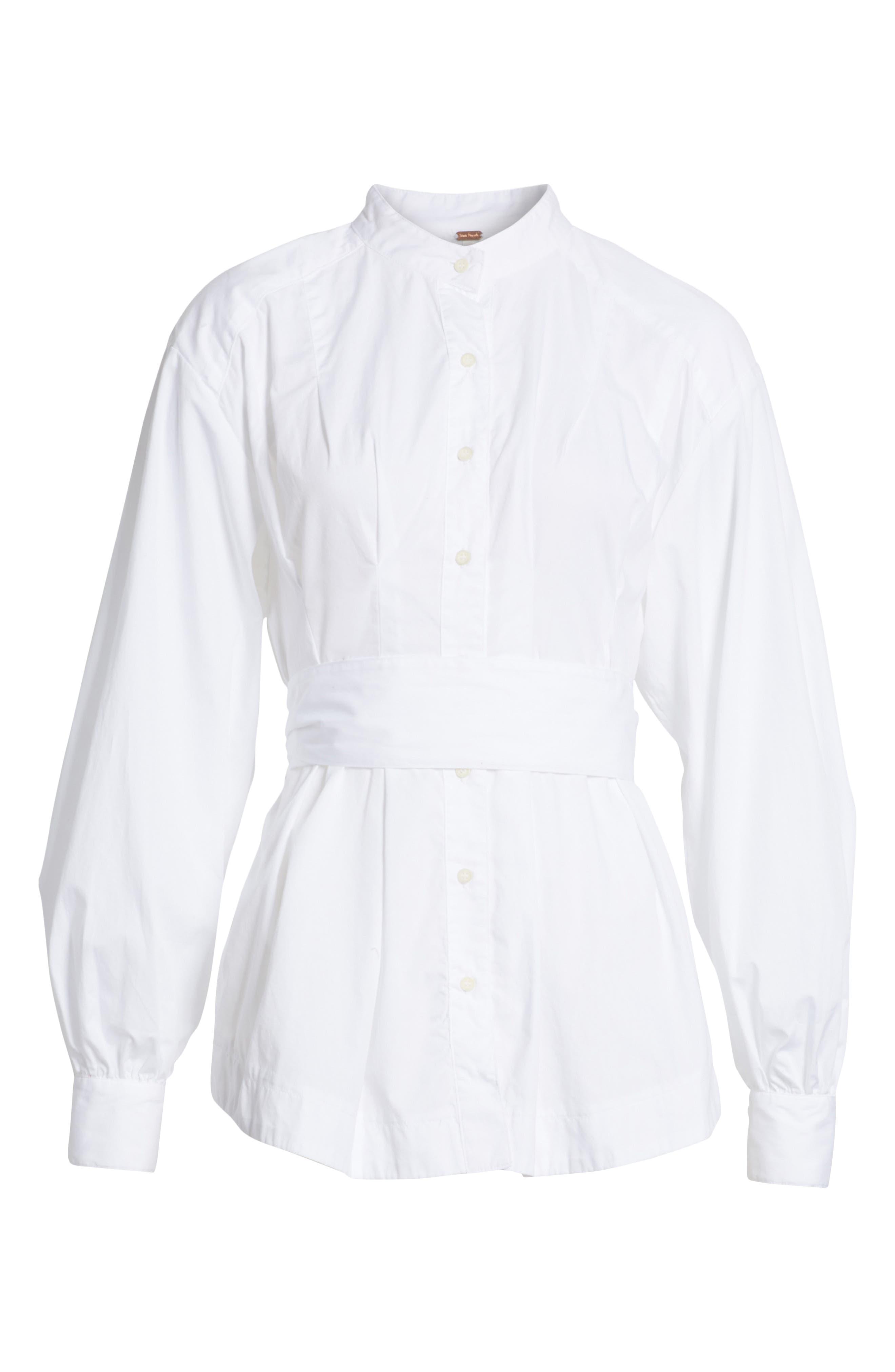 Abbey Tunic,                             Alternate thumbnail 6, color,                             White