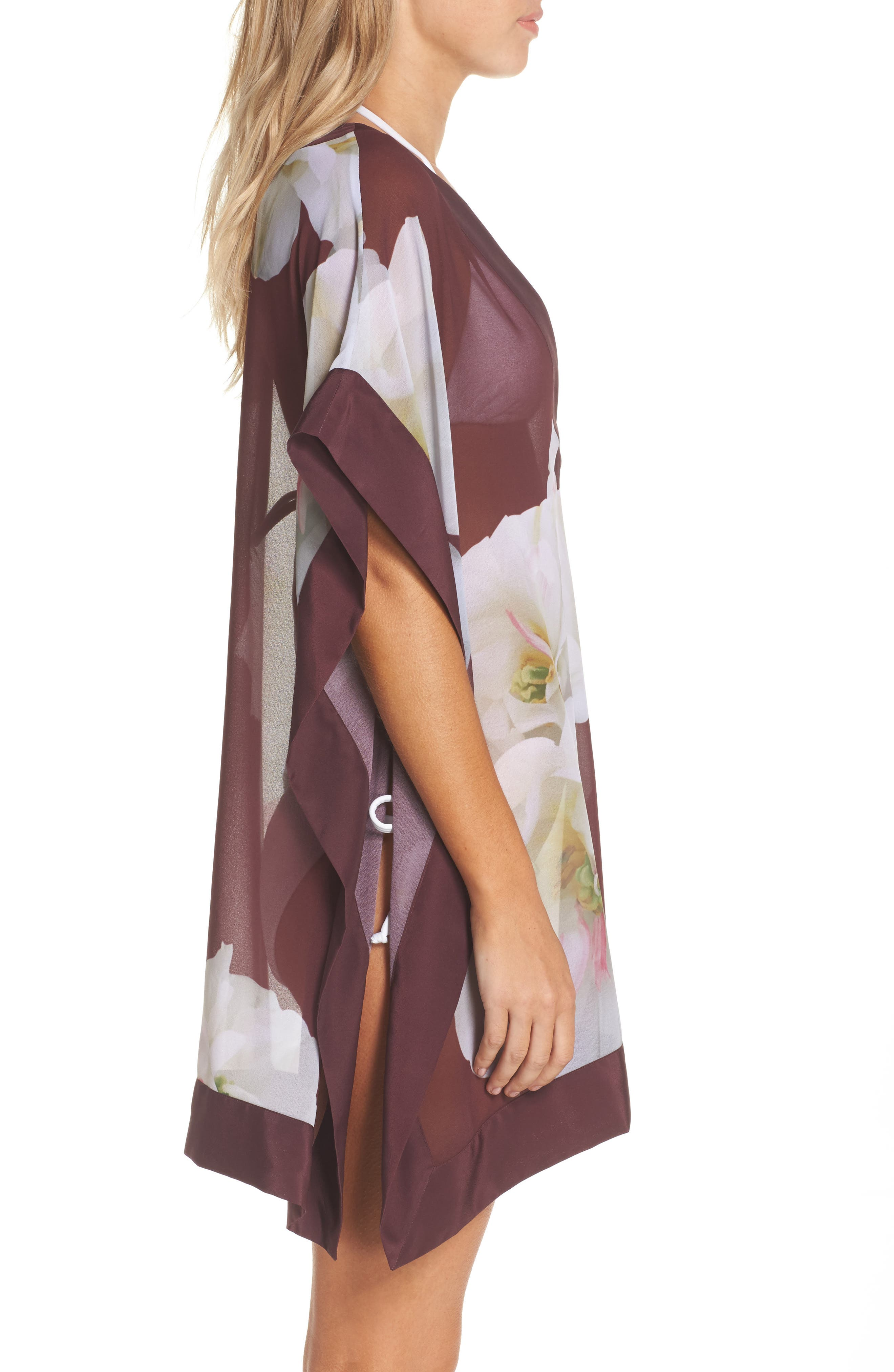 Alternate Image 3  - Ted Baker London Garsa Gardenia Cover-Up Tunic