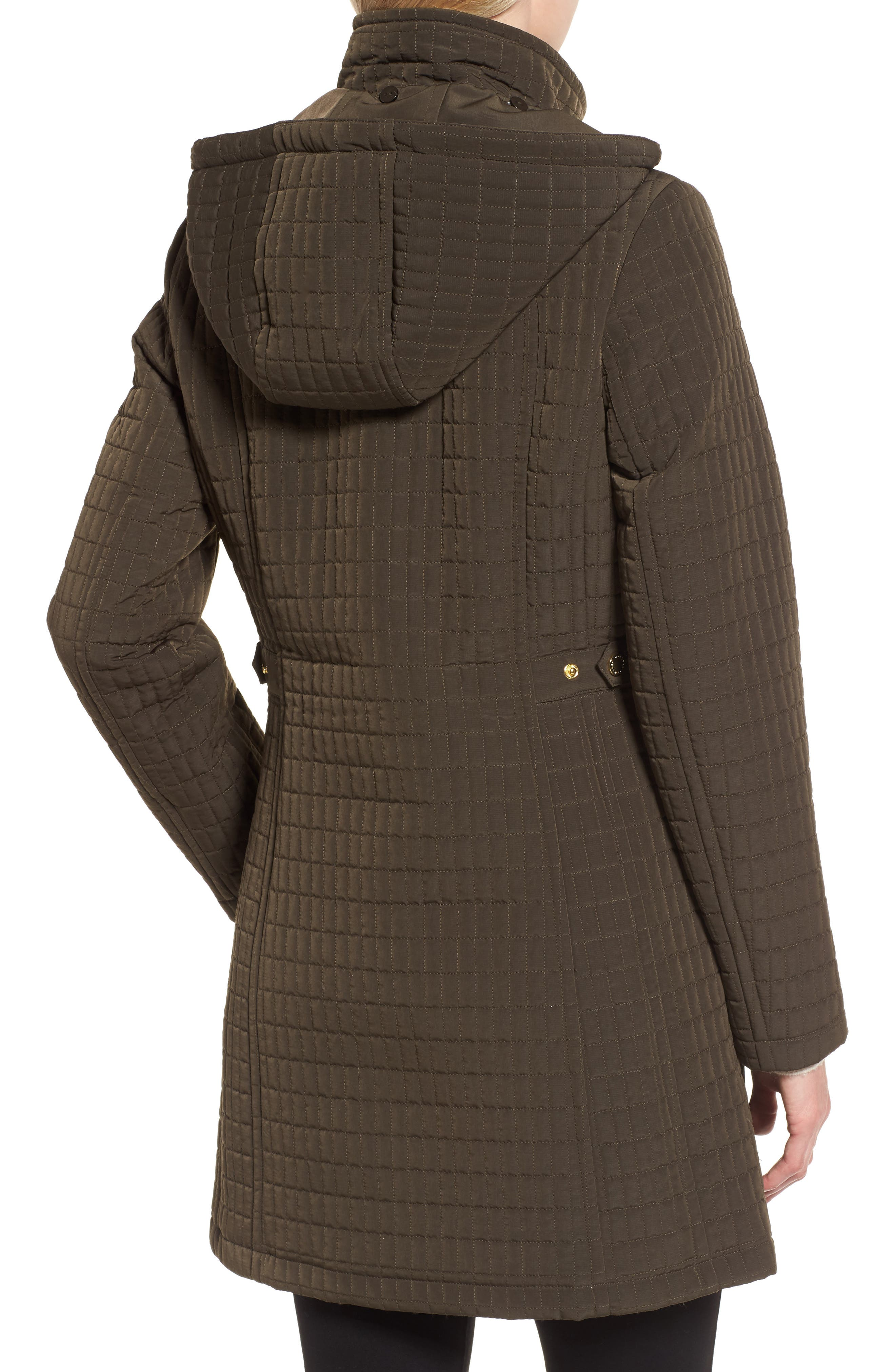 Quilted Jacket,                             Alternate thumbnail 2, color,                             Fatigue