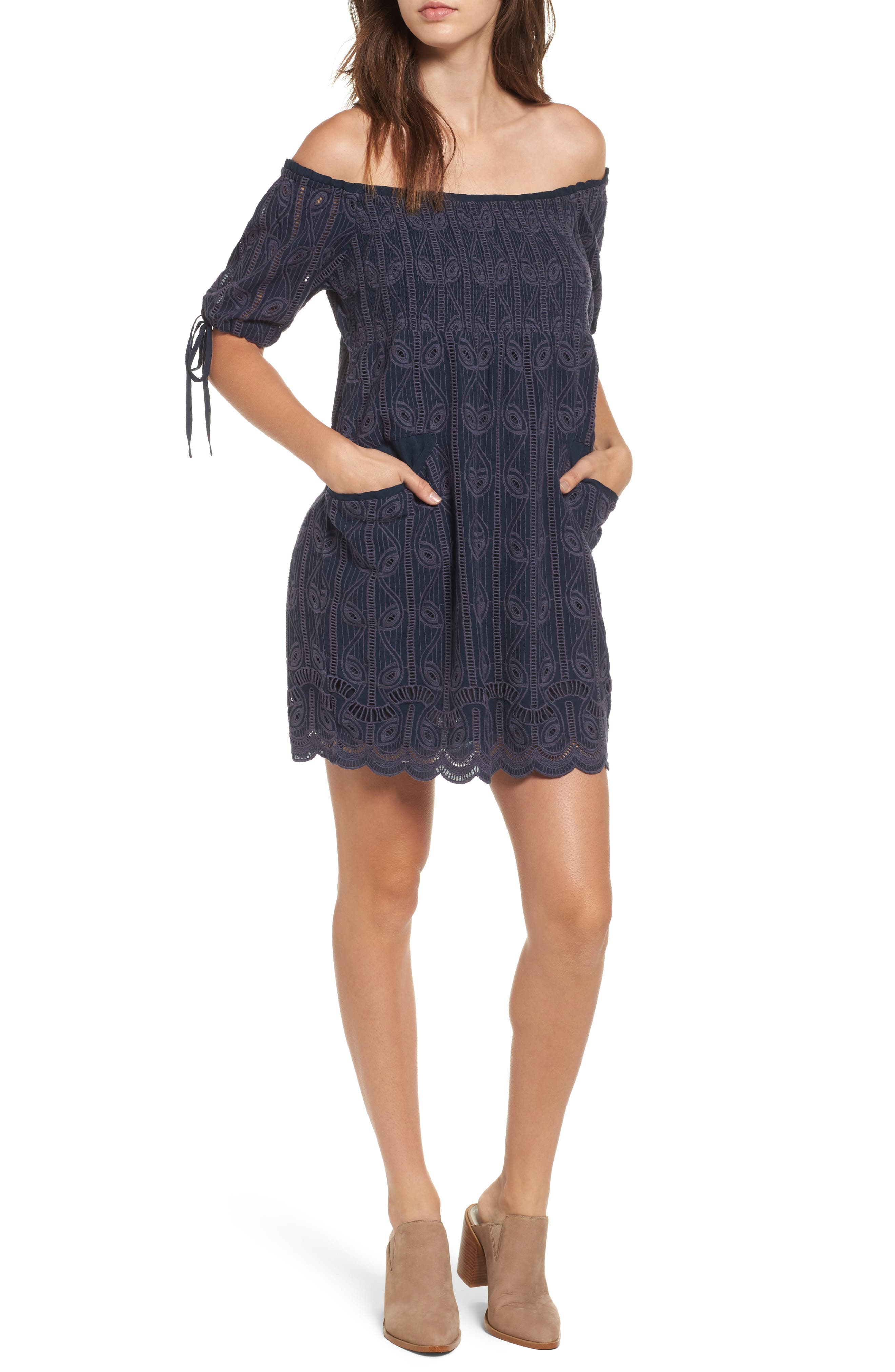 Tularosa Quinn Off the Shoulder Dress