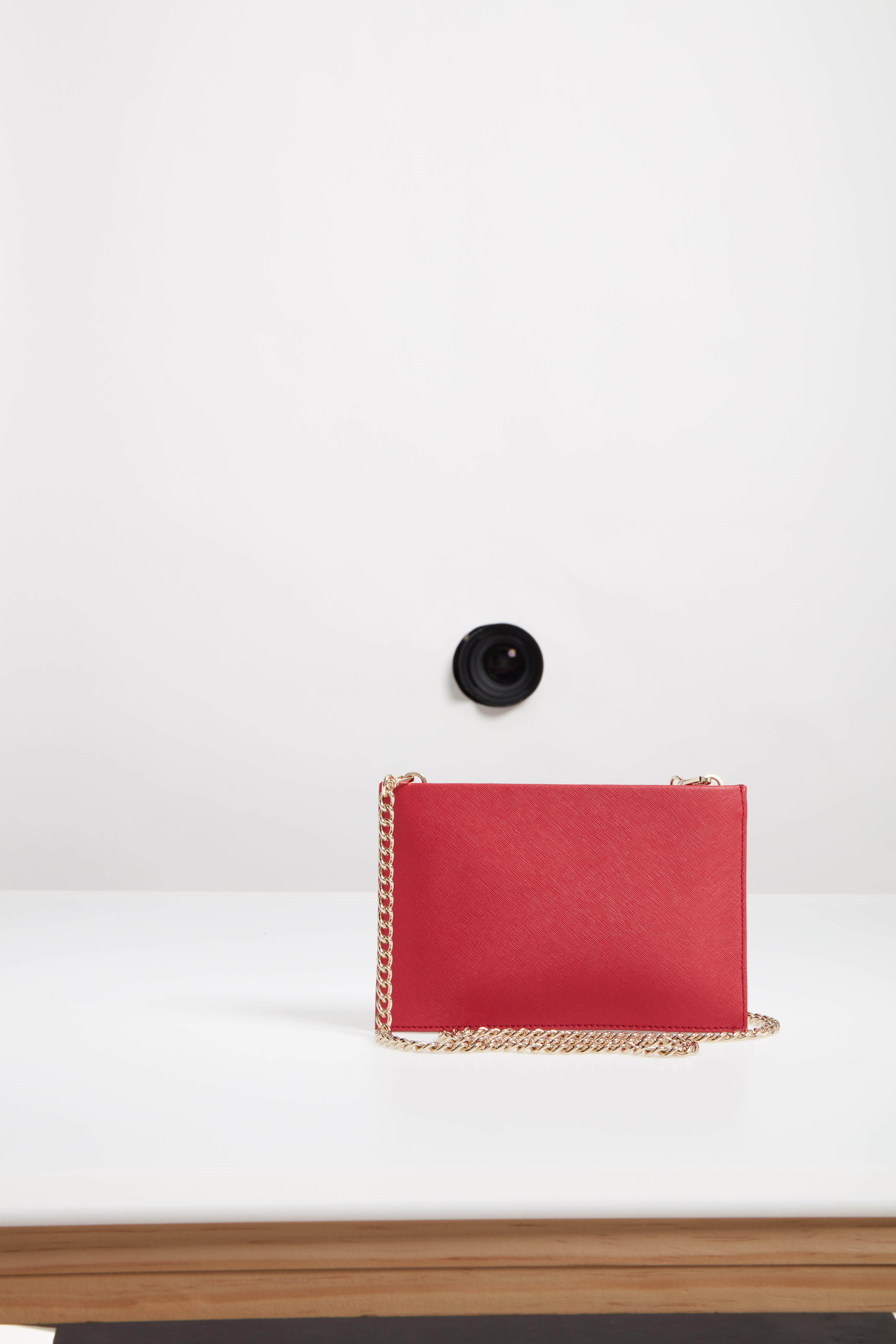 cameron street - mini sima leather shoulder bag,                             Alternate thumbnail 2, color,                             Rosso