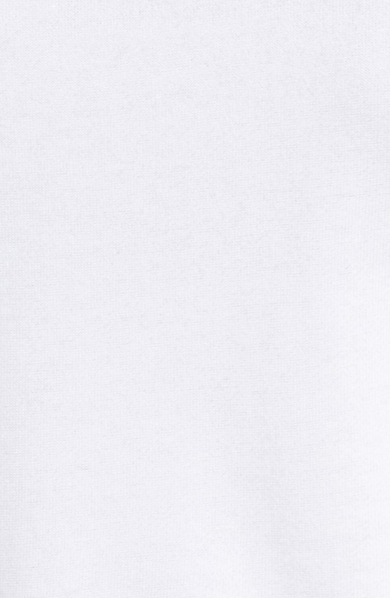 New York Soho Raglan Pullover,                             Alternate thumbnail 6, color,                             White