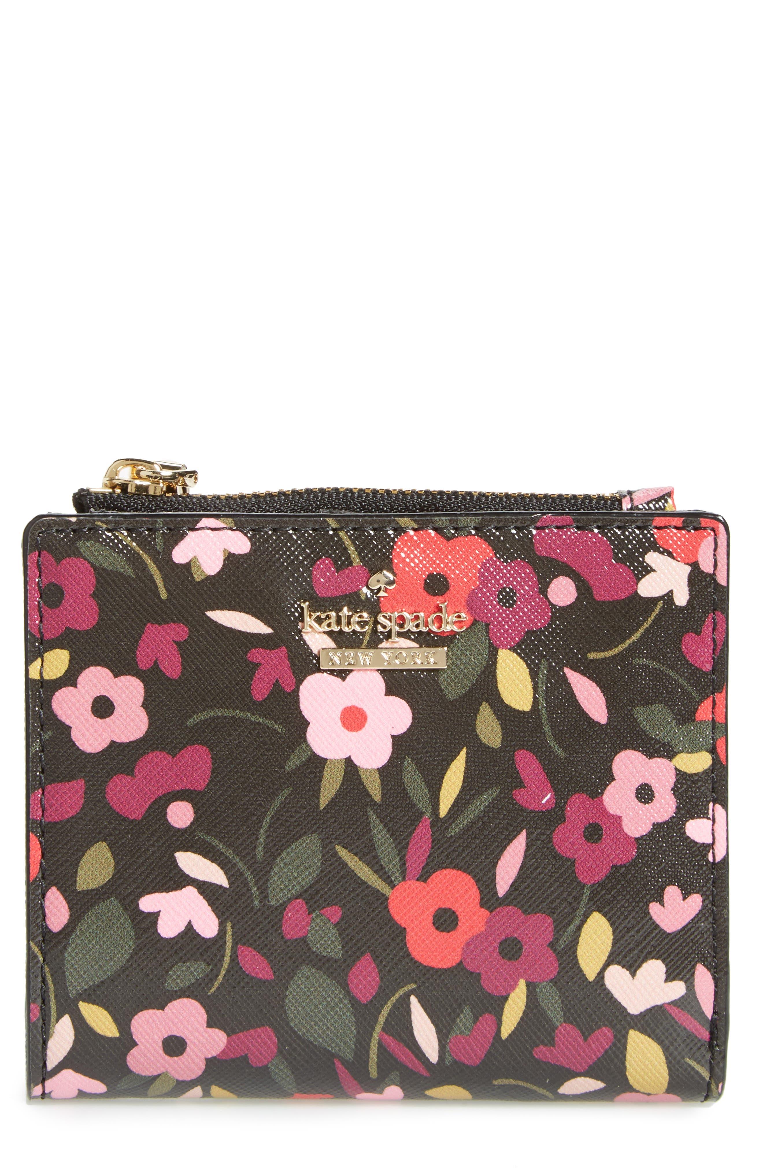Main Image - kate spade new york cameron street - adalyn boho floral wallet