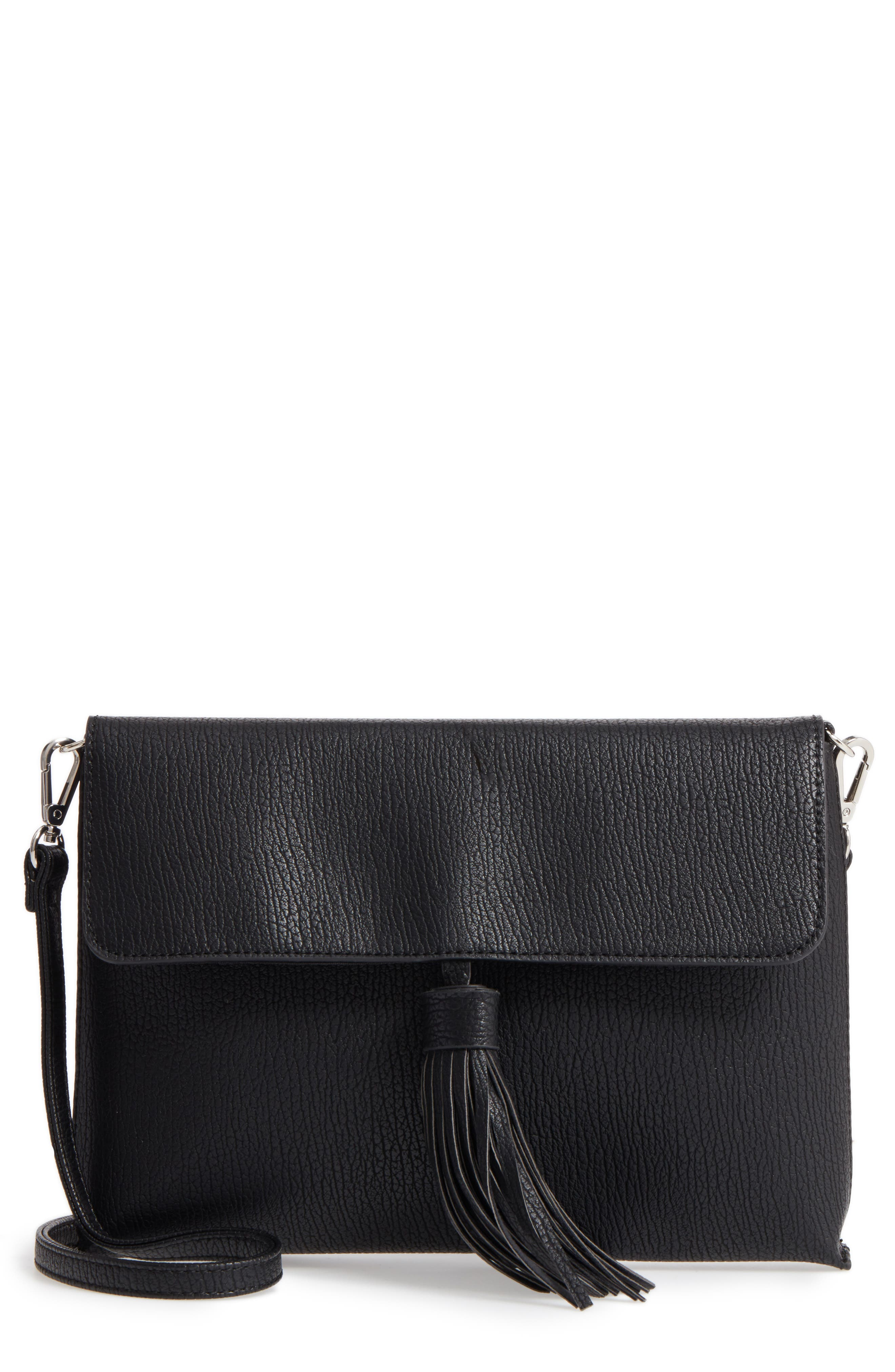 Sole Society Divya Faux Leather Convertible Clutch