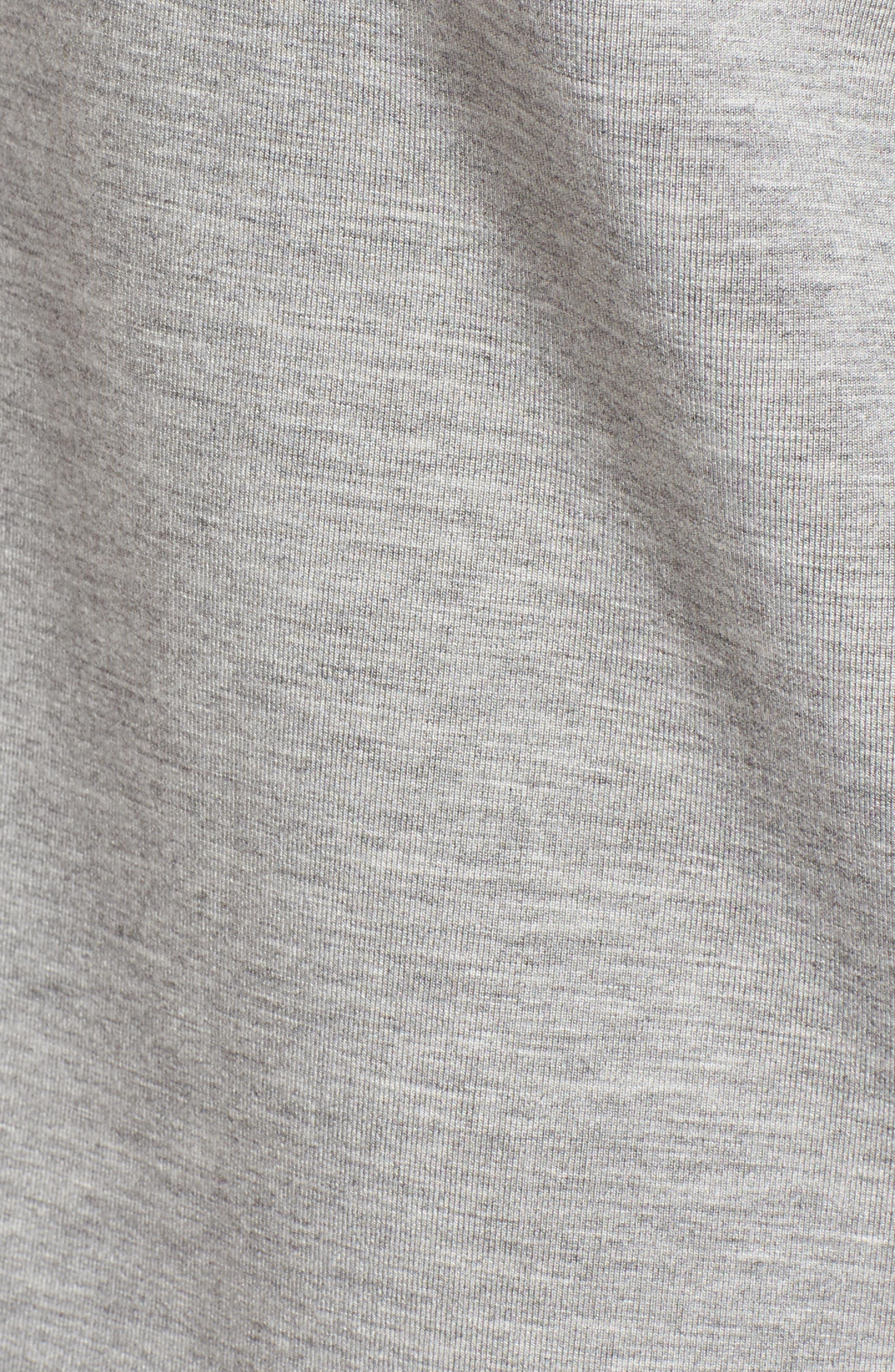 Alternate Image 5  - Nordstrom Signature Bell Sleeve Sweatshirt