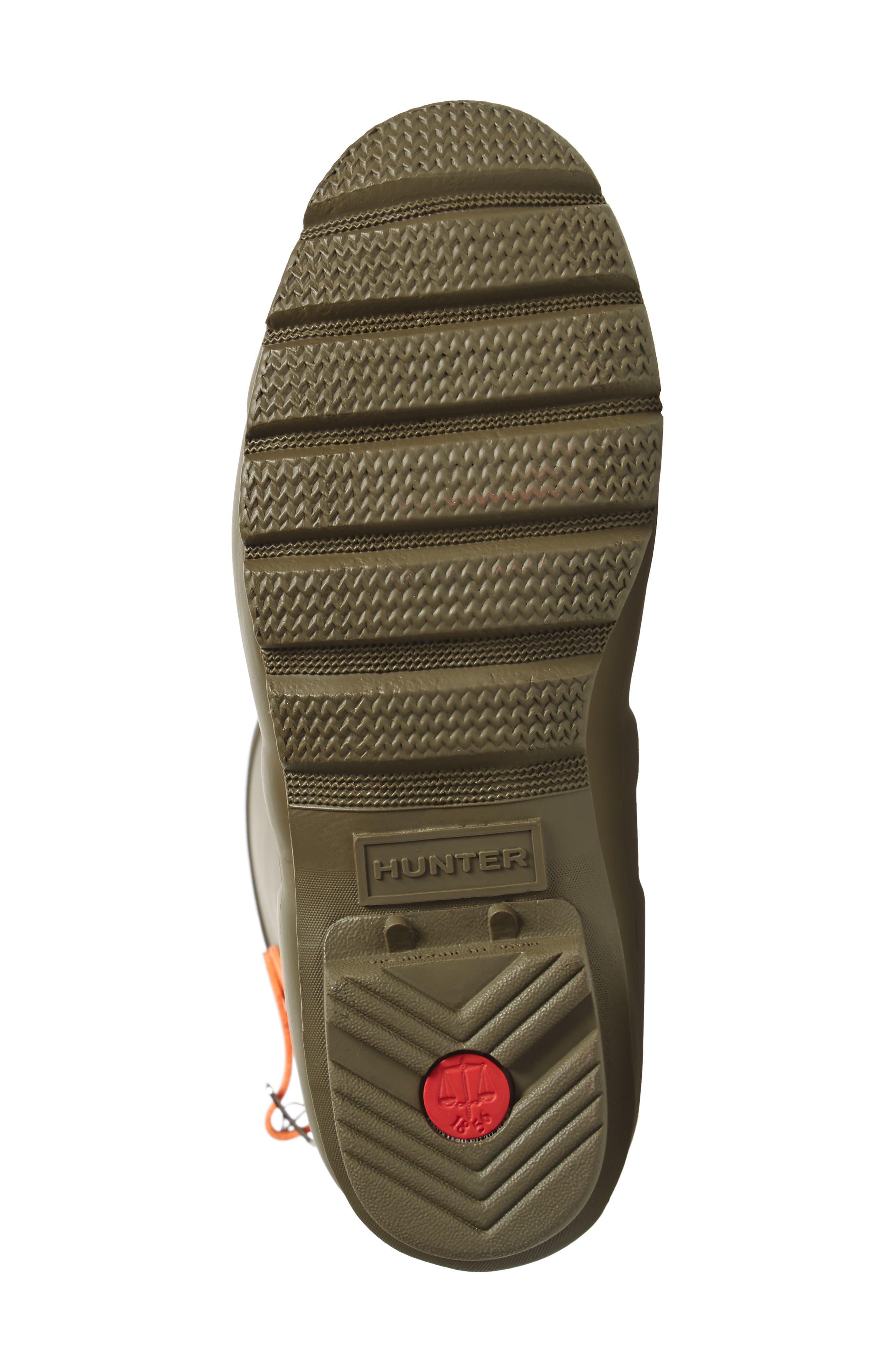 Alternate Image 6  - Hunter Original Short Back Adjustable Rain Boot (Women)