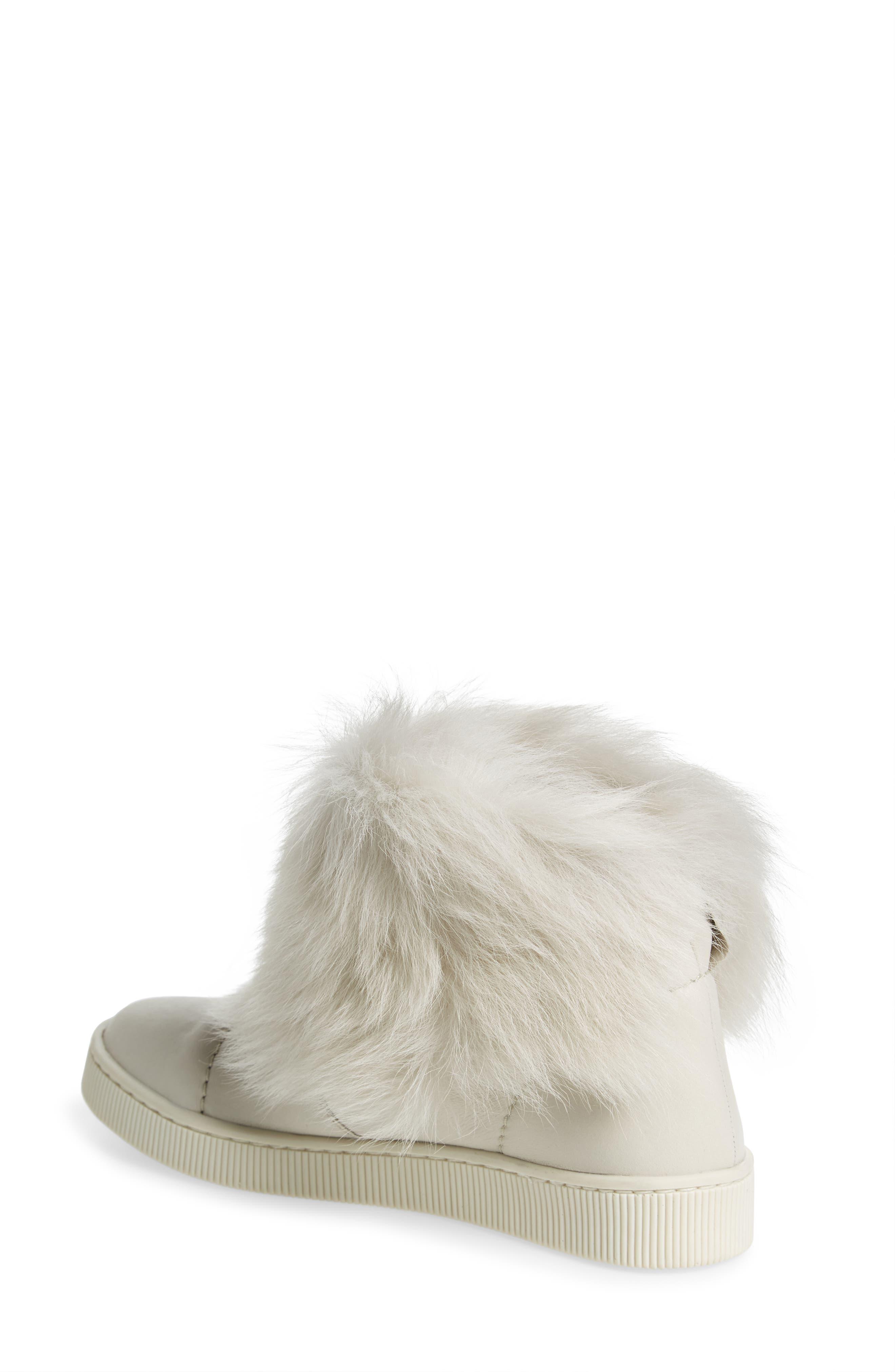 Alternate Image 2  - Pedro Garcia Priya Genuine Shearling Sneaker Boot (Women)