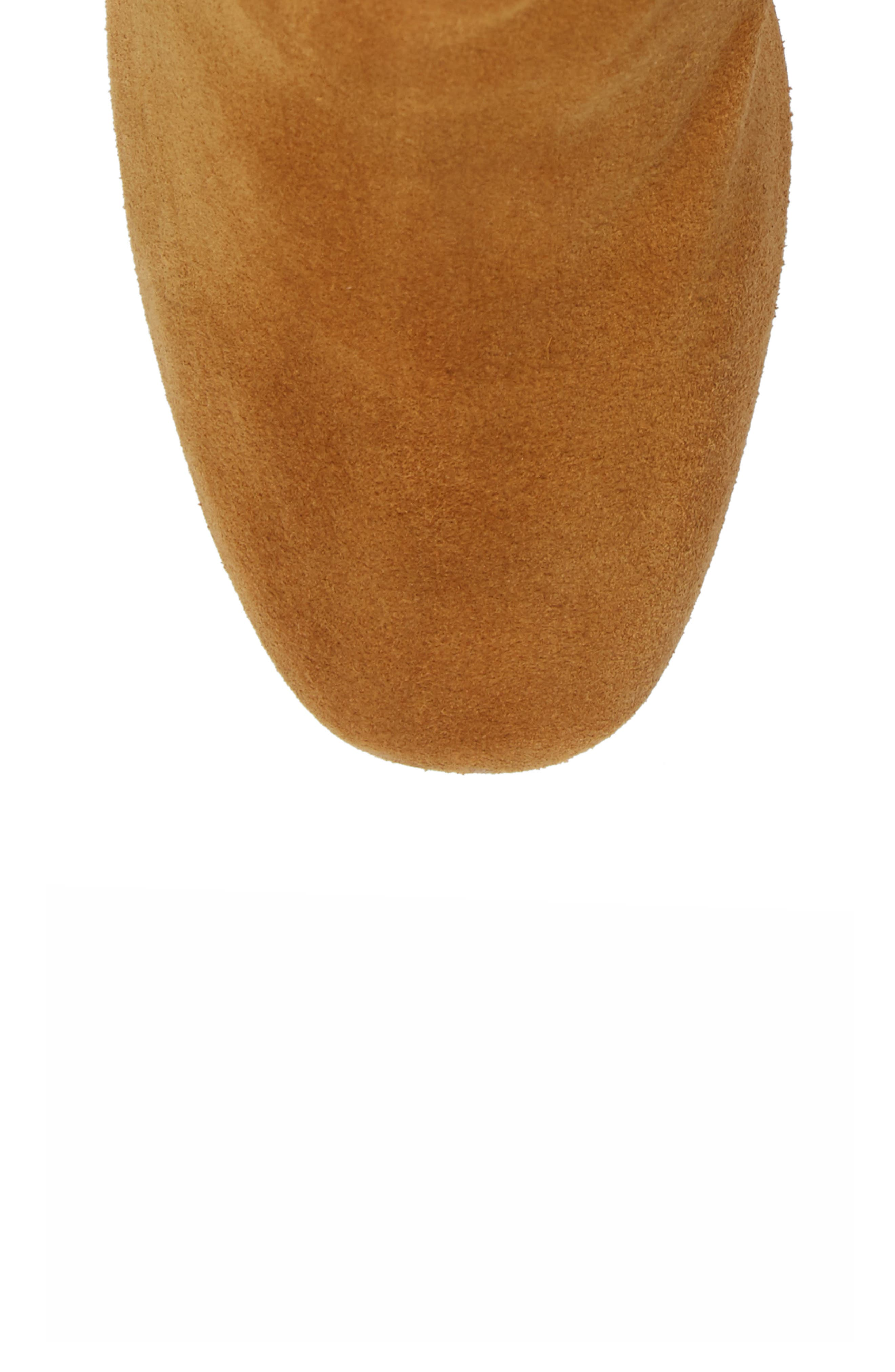 Daisee Billie Bootie,                             Alternate thumbnail 5, color,                             Camel Suede