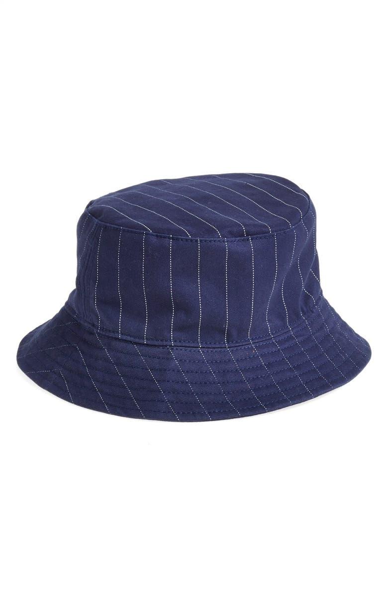 Topman Pinstripe Bucket Hat (Brit Pop-In)  f9d28151534